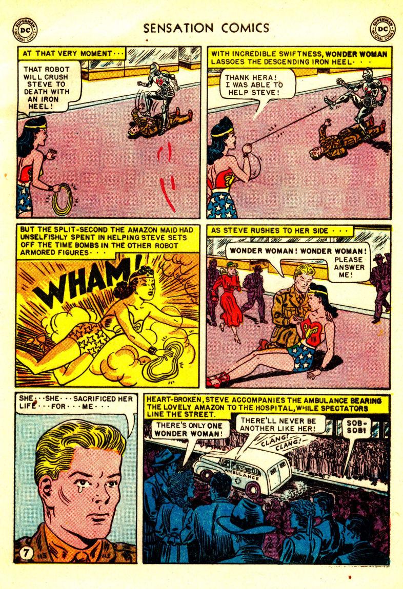Read online Sensation (Mystery) Comics comic -  Issue #106 - 9