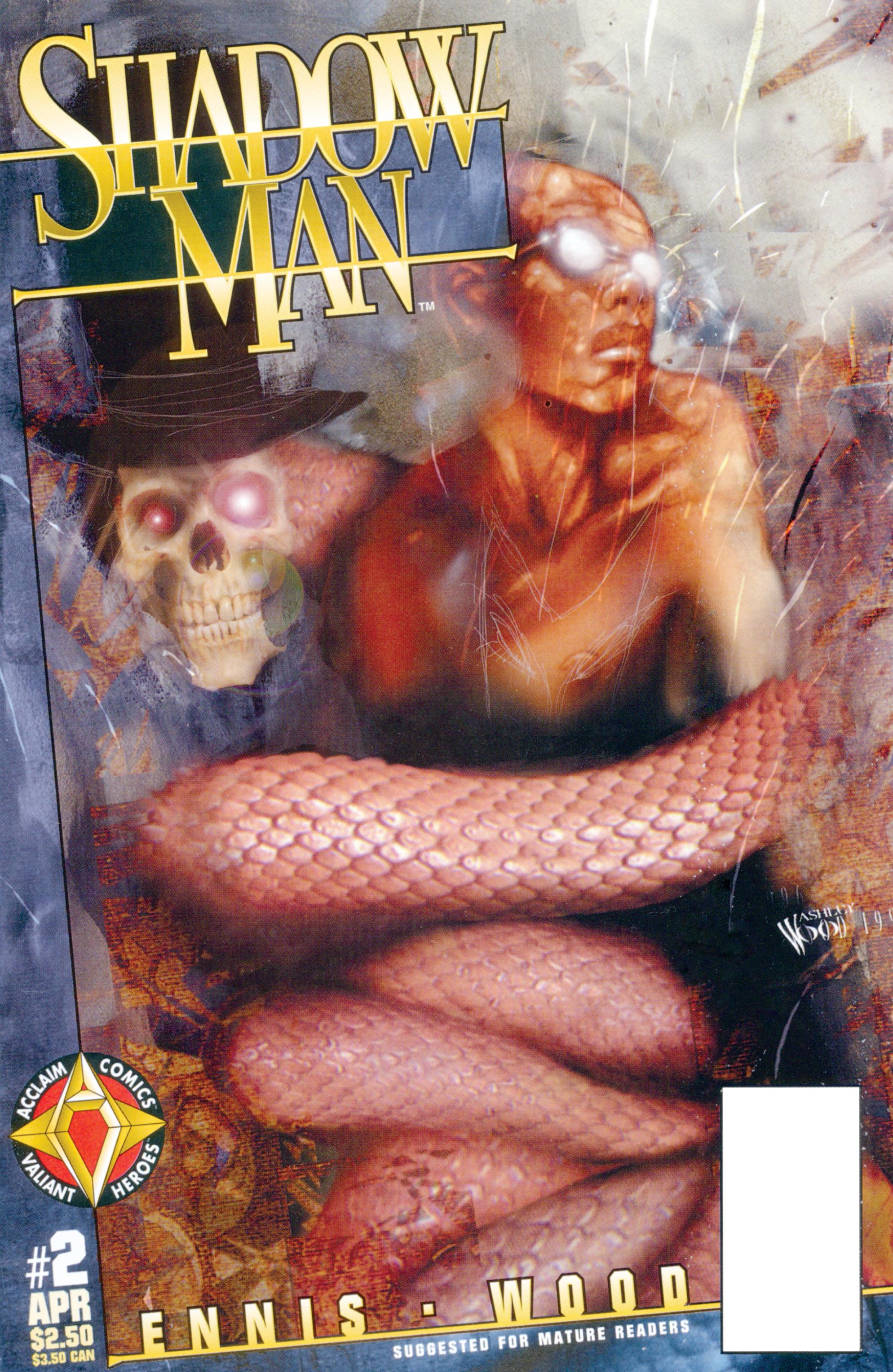 Read online Shadowman (1997) comic -  Issue #2 - 1