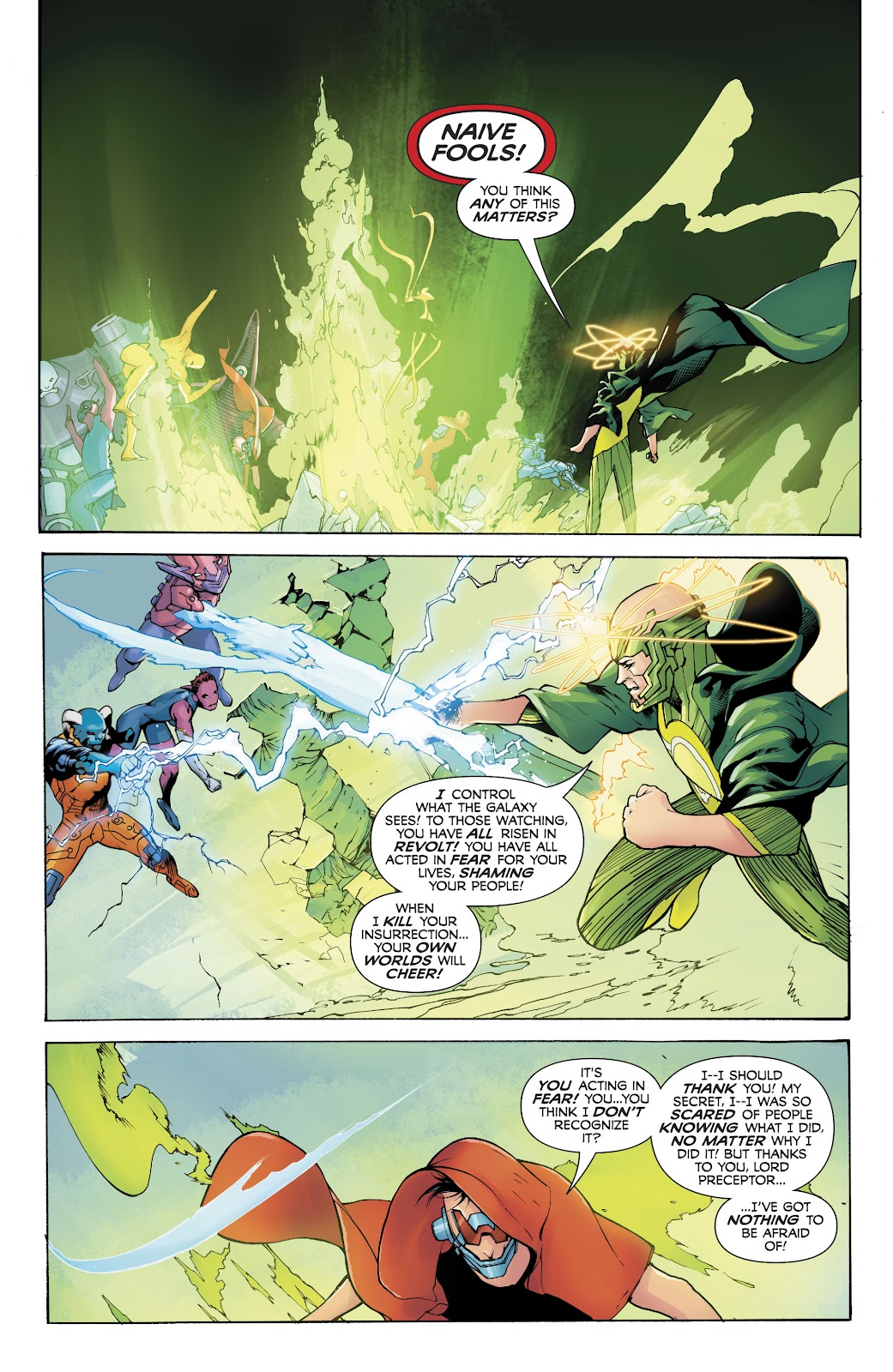 Read online Electric Warriors comic -  Issue #5 - 16