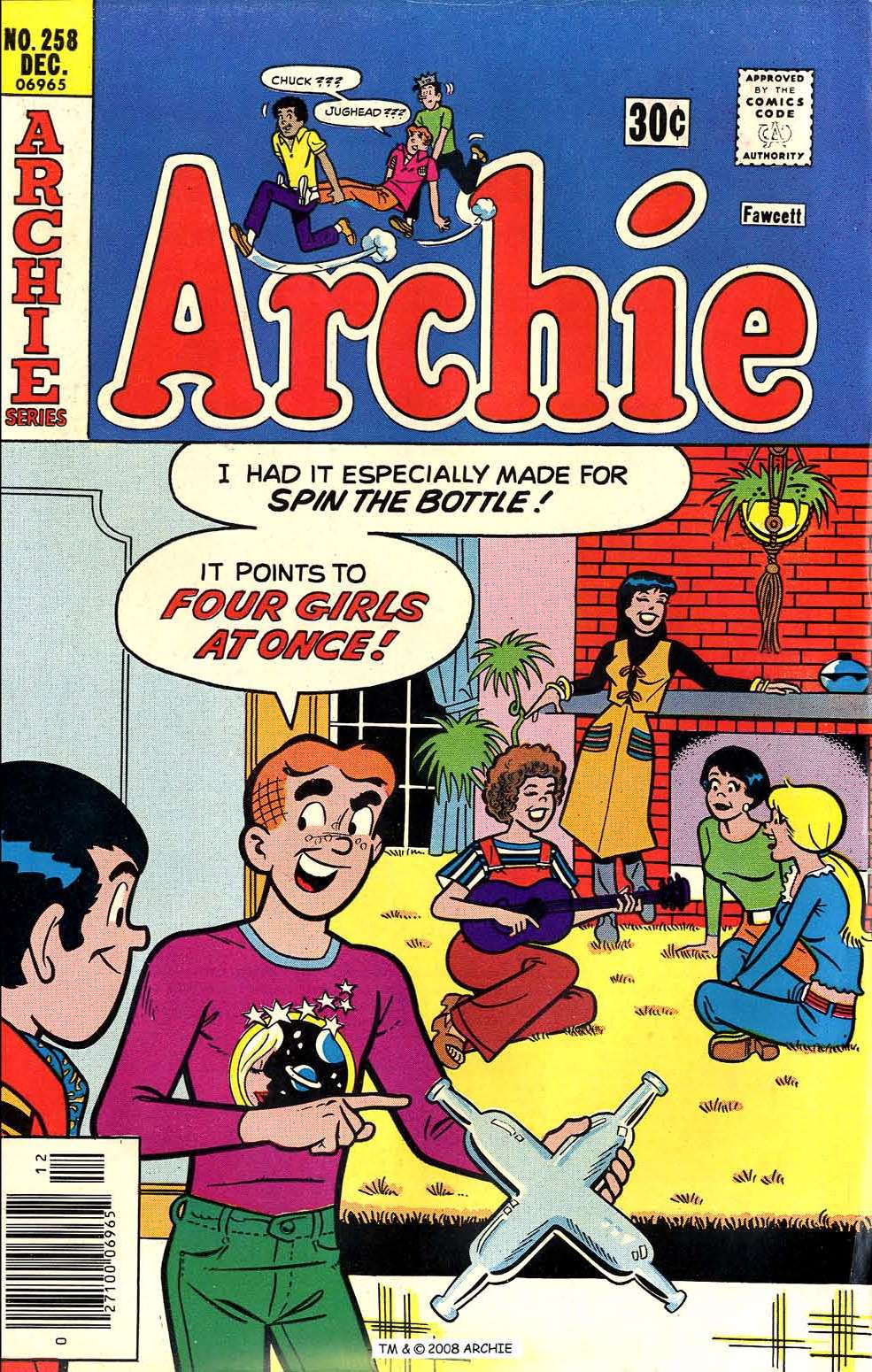 Read online Archie (1960) comic -  Issue #258 - 1