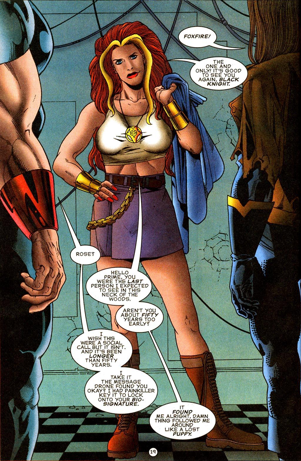 Read online UltraForce (1995) comic -  Issue #9 - 19