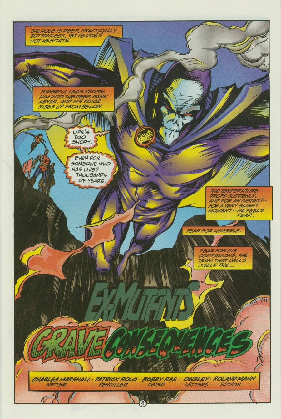 Read online Ex-Mutants comic -  Issue #15 - 7