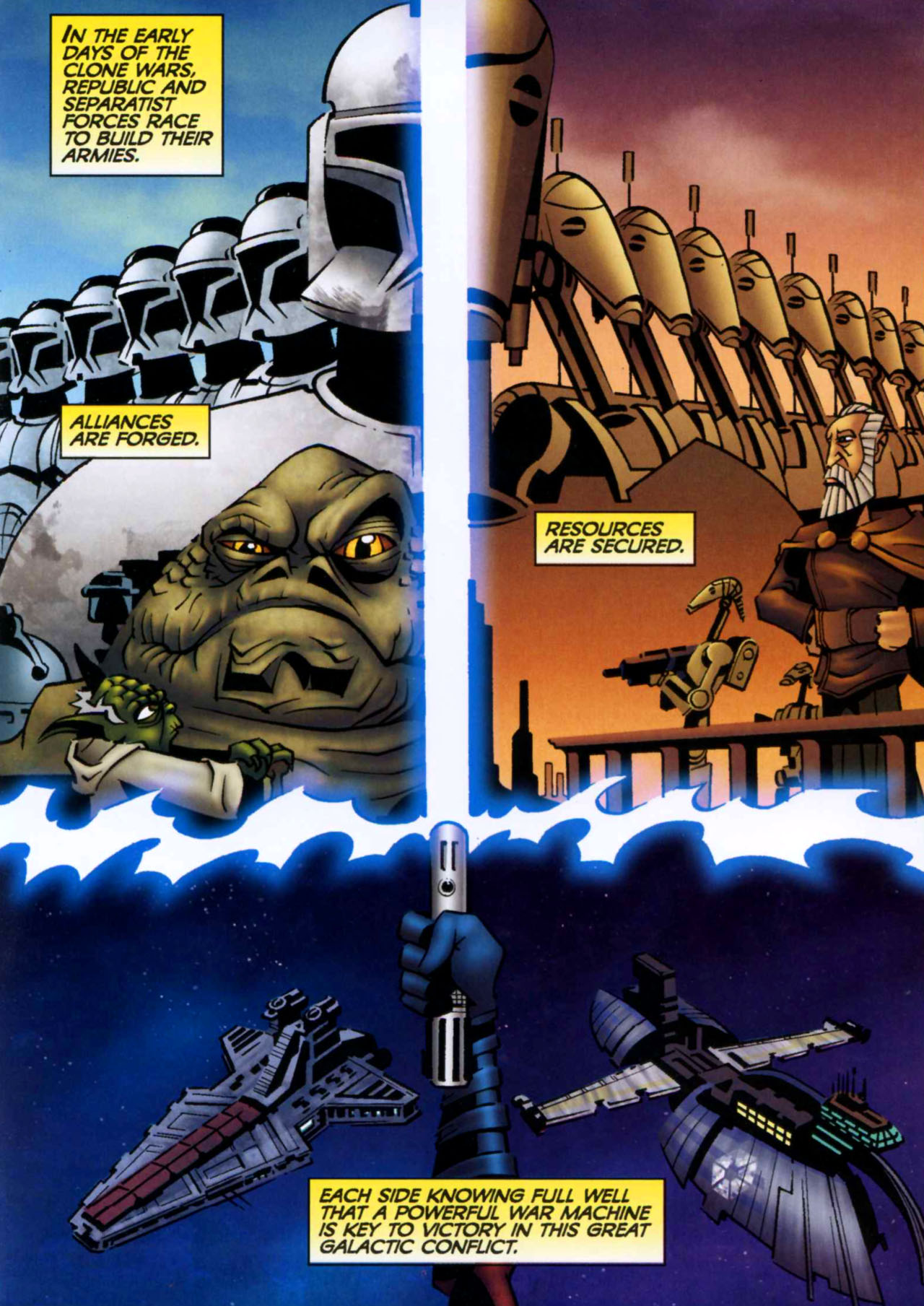 Read online Star Wars: The Clone Wars - Shipyards of Doom comic -  Issue # Full - 5