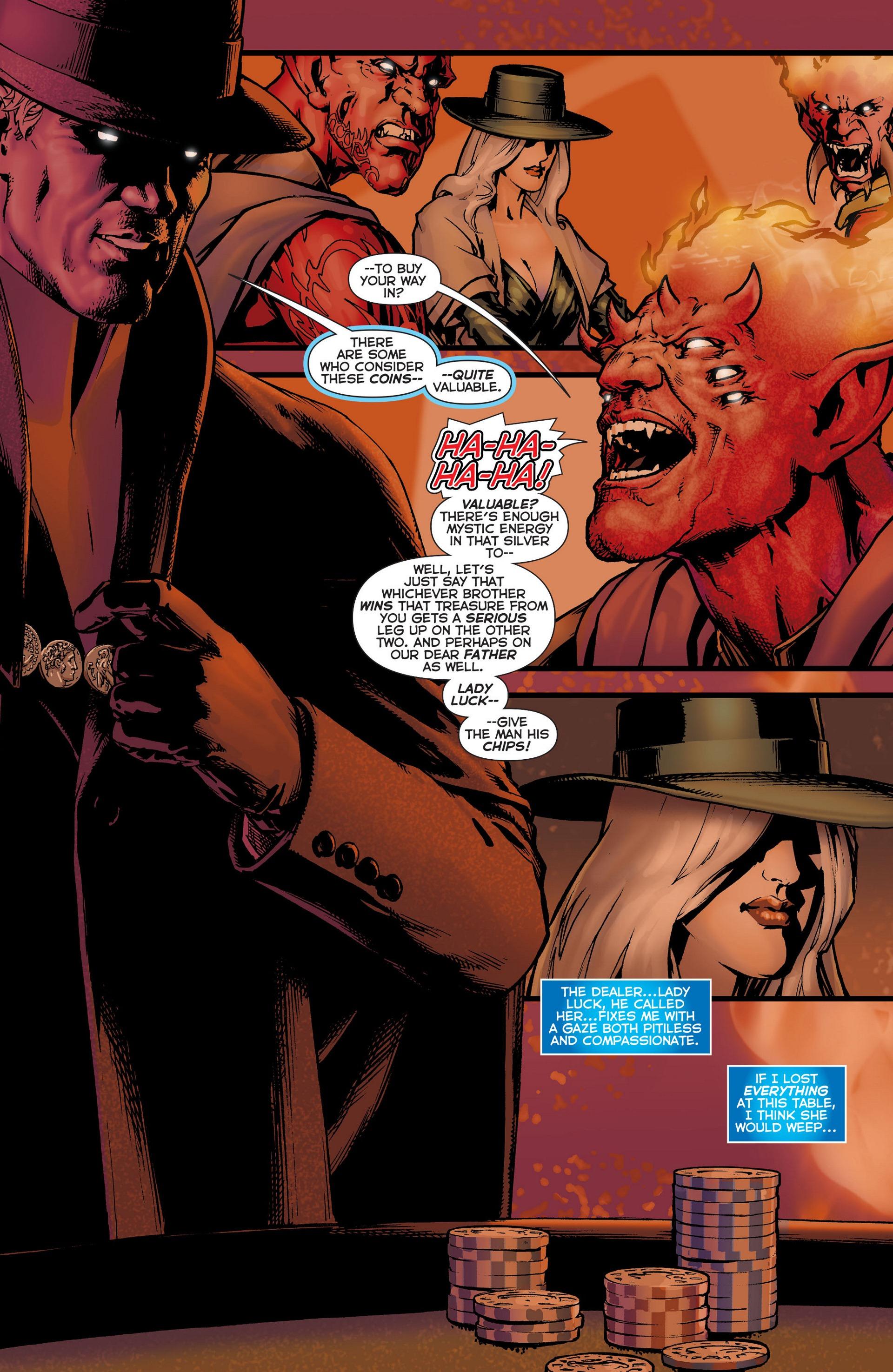 Read online Trinity of Sin: The Phantom Stranger comic -  Issue #6 - 10