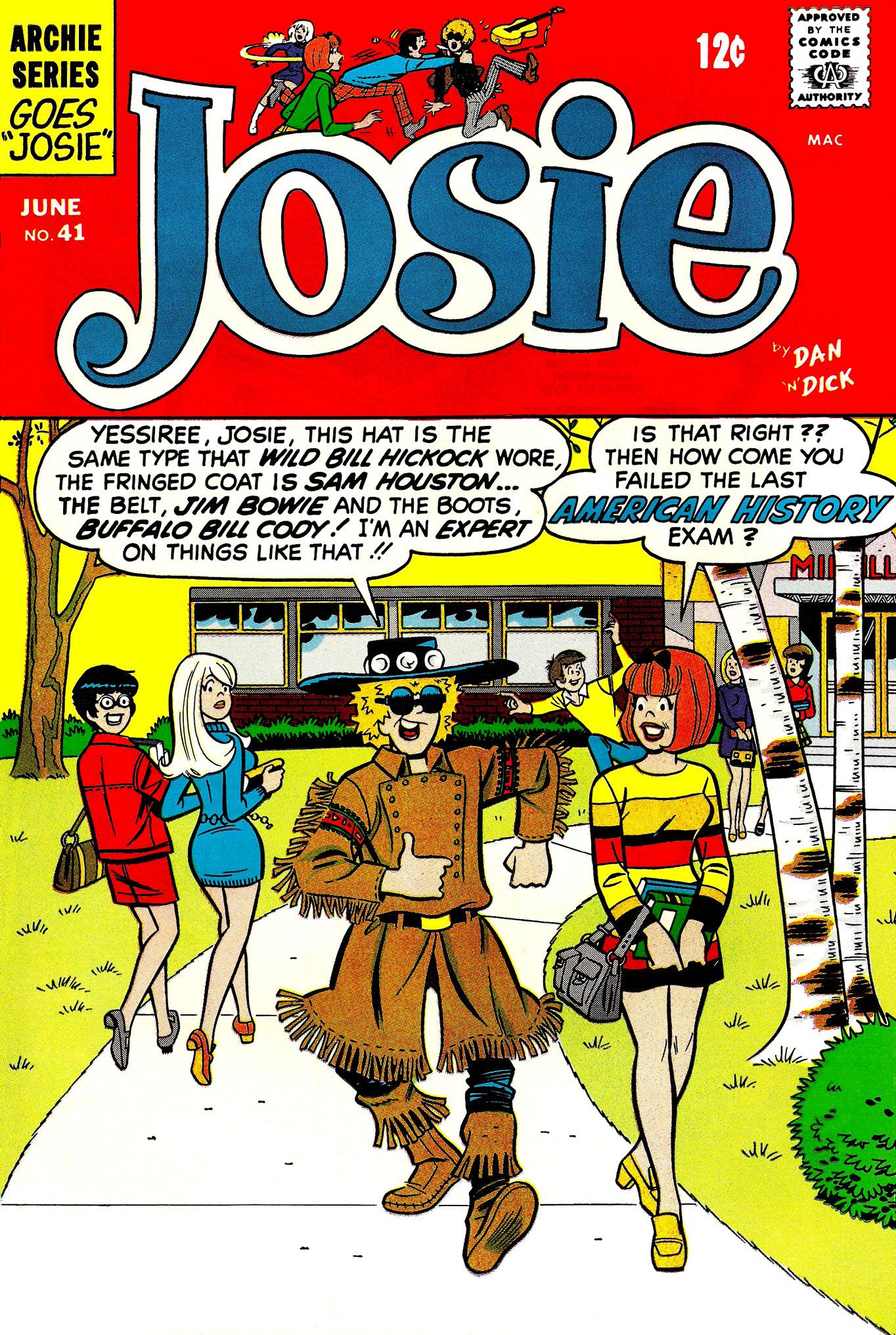 Read online She's Josie comic -  Issue #41 - 1