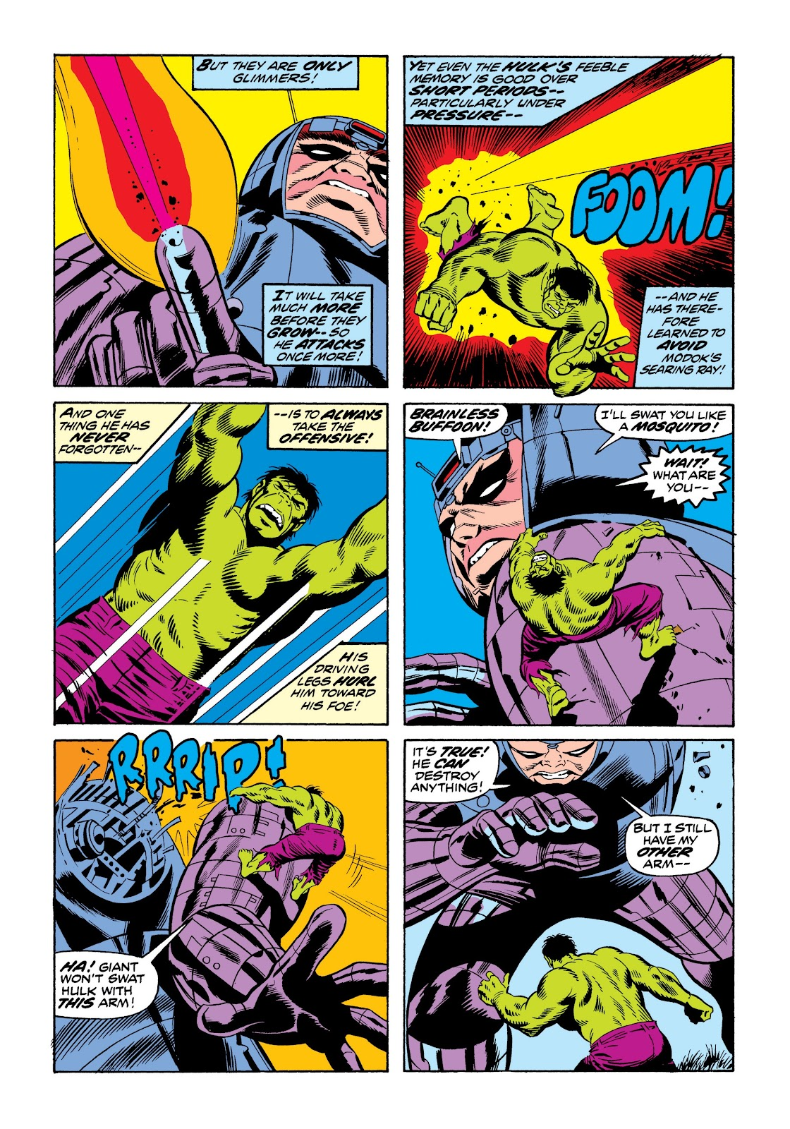 Read online Marvel Masterworks: The Incredible Hulk comic -  Issue # TPB 9 (Part 3) - 34
