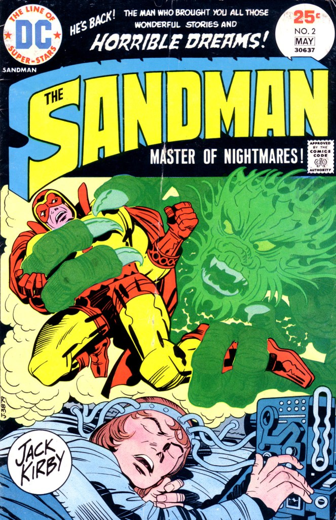 The Sandman (1974) issue 2 - Page 1