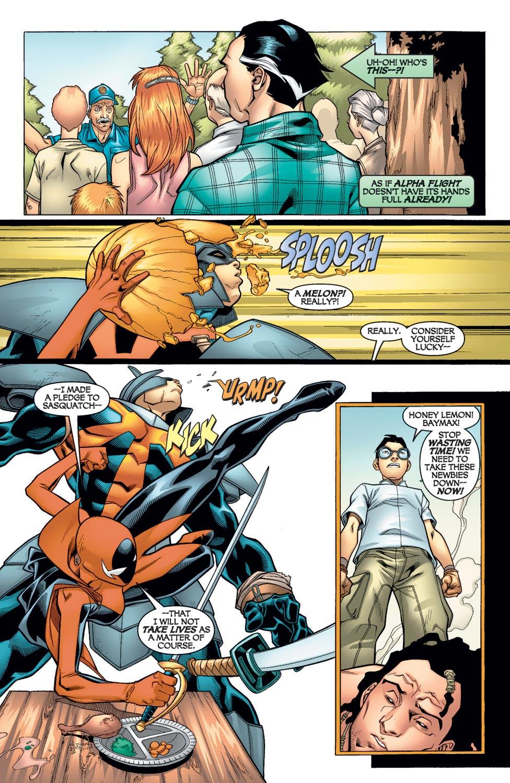 Read online Alpha Flight (2004) comic -  Issue #9 - 6