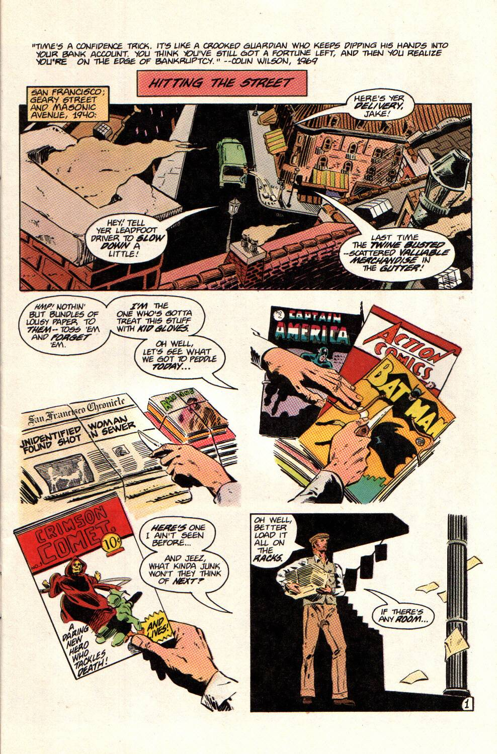 Read online Aztec Ace comic -  Issue #12 - 3