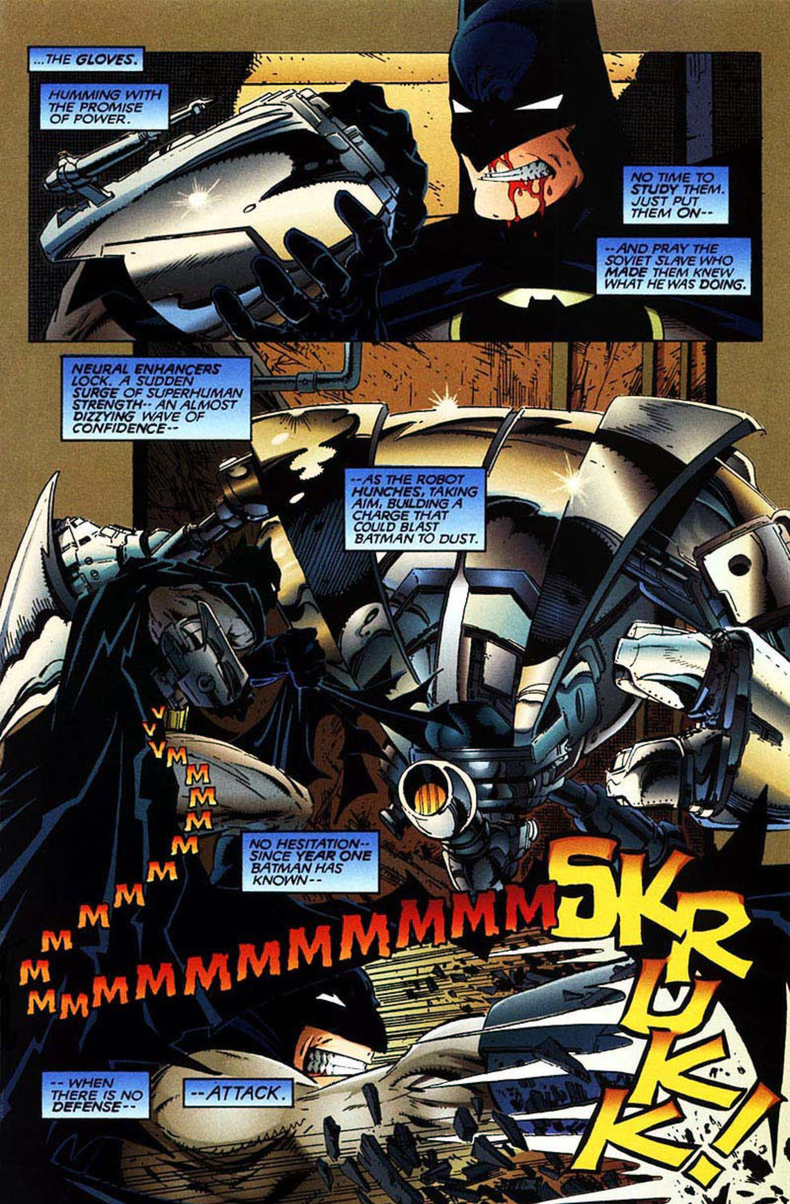 Read online Spawn-Batman comic -  Issue # Full - 7