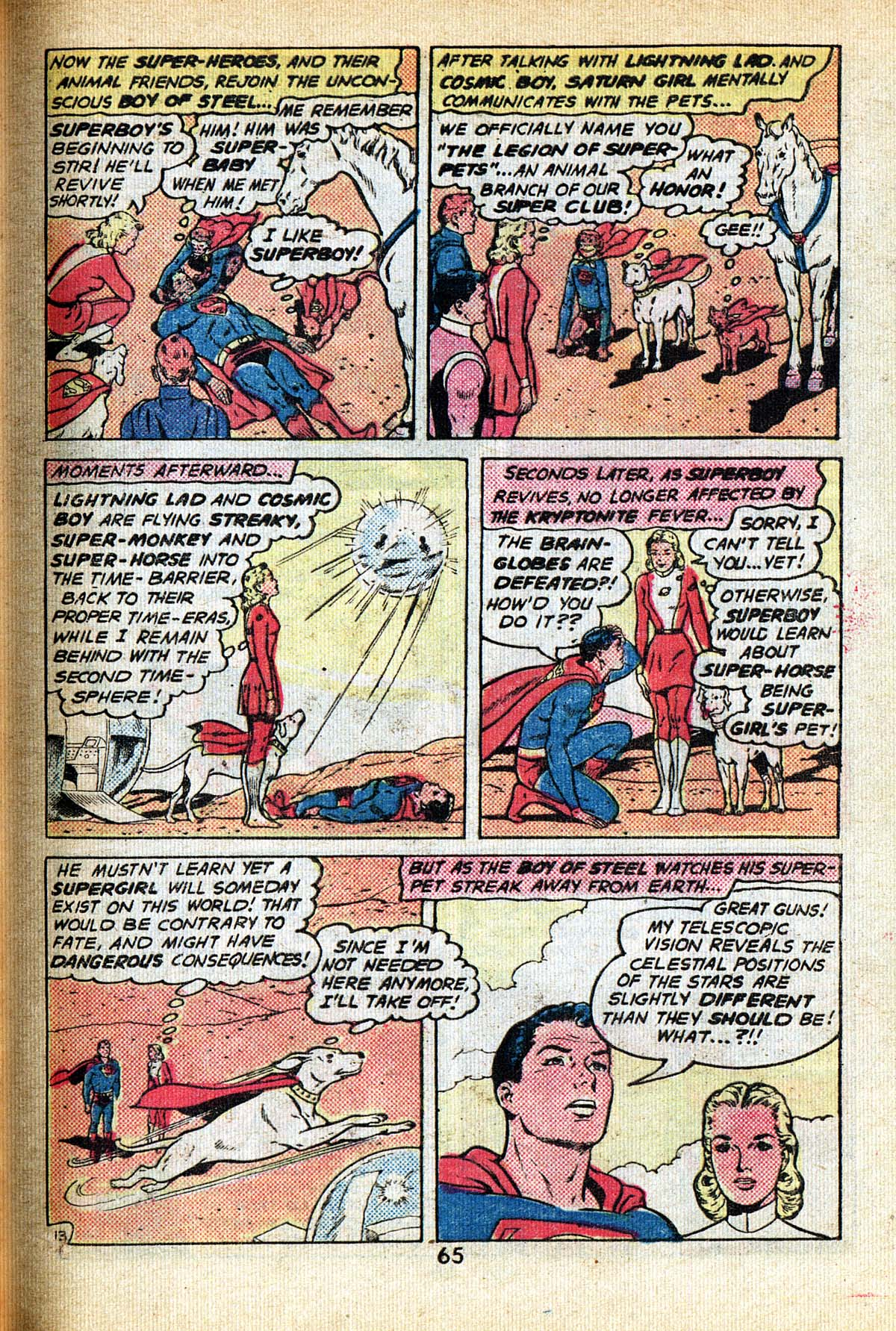 Read online Adventure Comics (1938) comic -  Issue #495 - 65