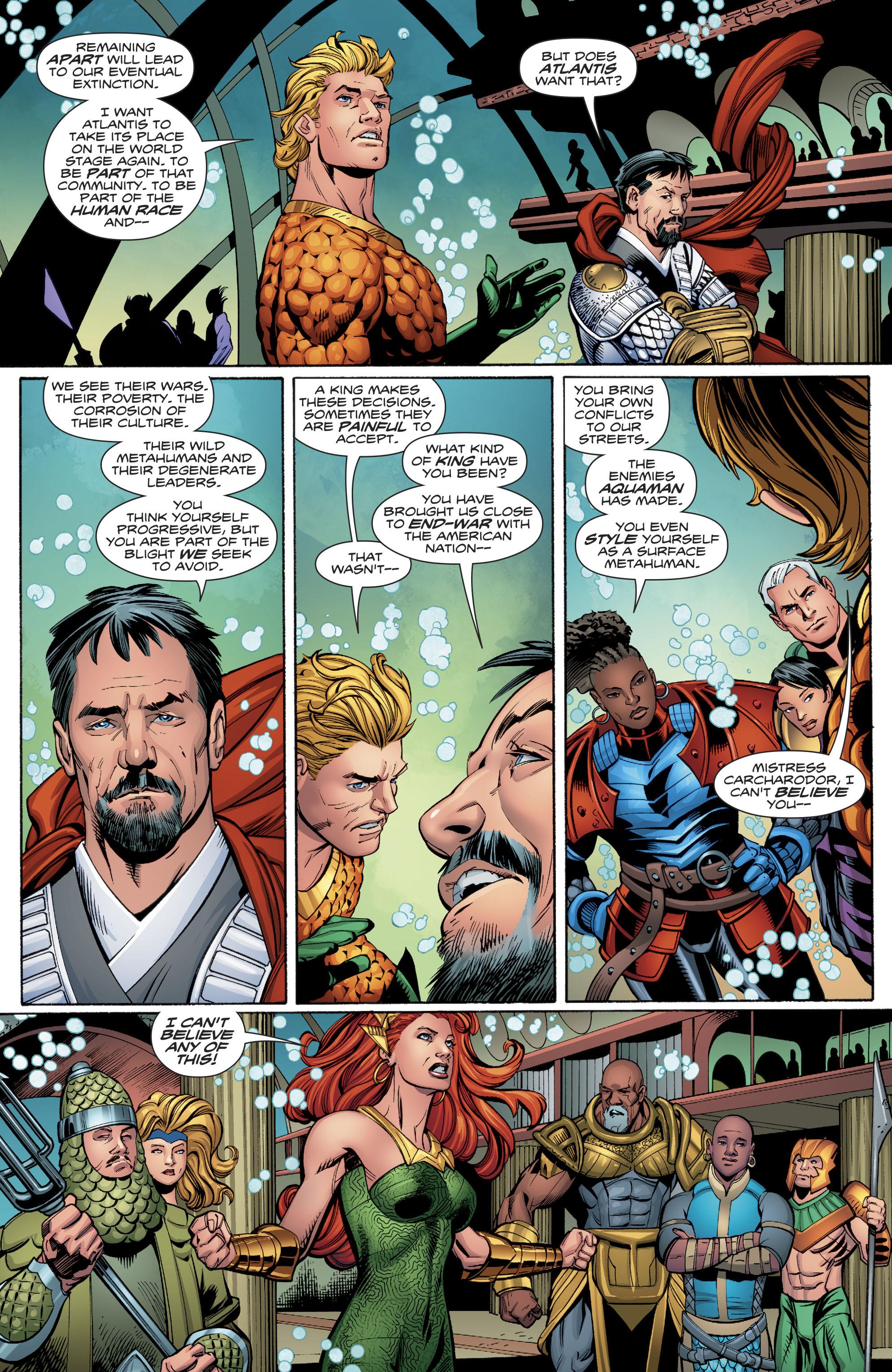 Read online Aquaman (2016) comic -  Issue #23 - 17