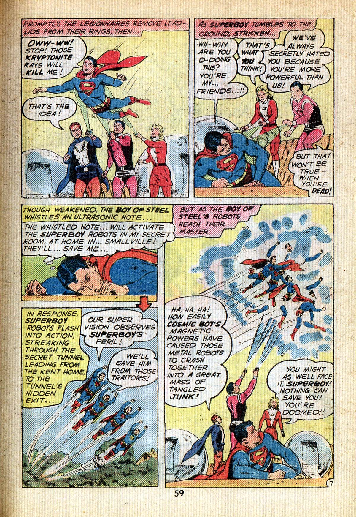 Read online Adventure Comics (1938) comic -  Issue #495 - 59
