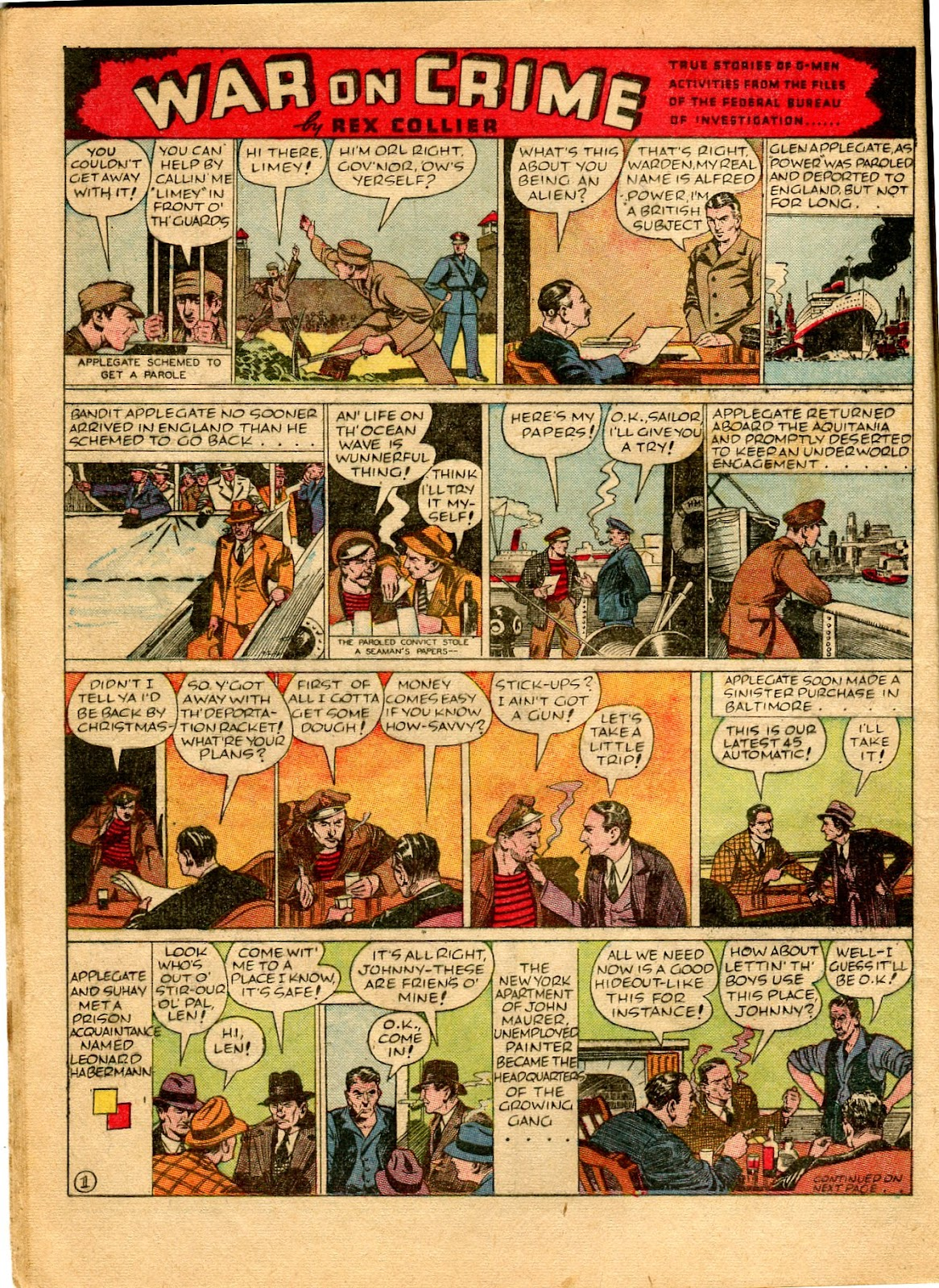 Read online Famous Funnies comic -  Issue #49 - 22