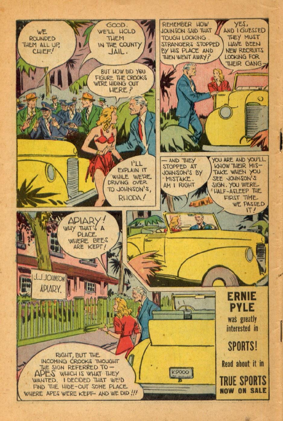 Read online Super-Magician Comics comic -  Issue #45 - 50