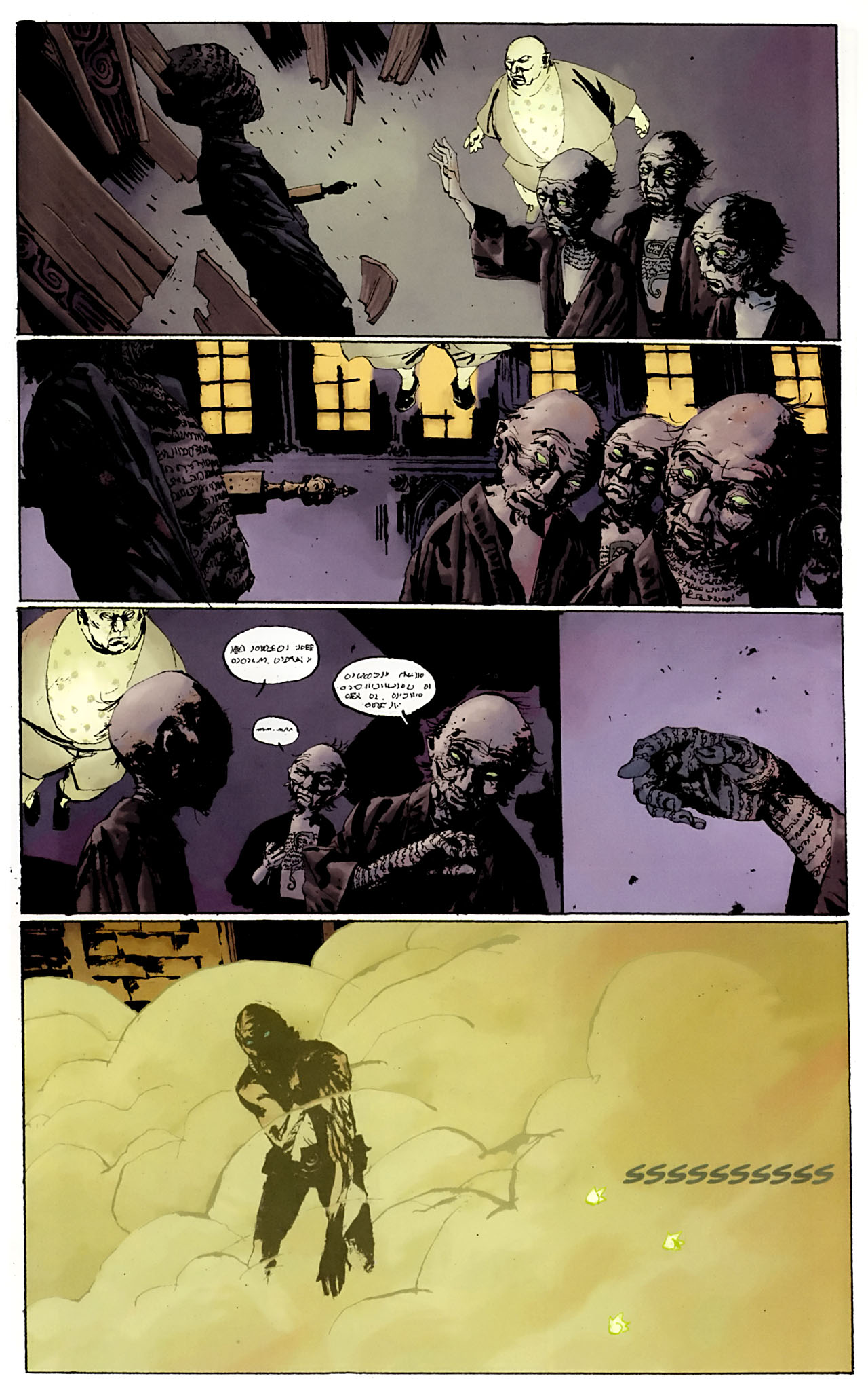 Read online Abe Sapien: The Drowning comic -  Issue #3 - 7