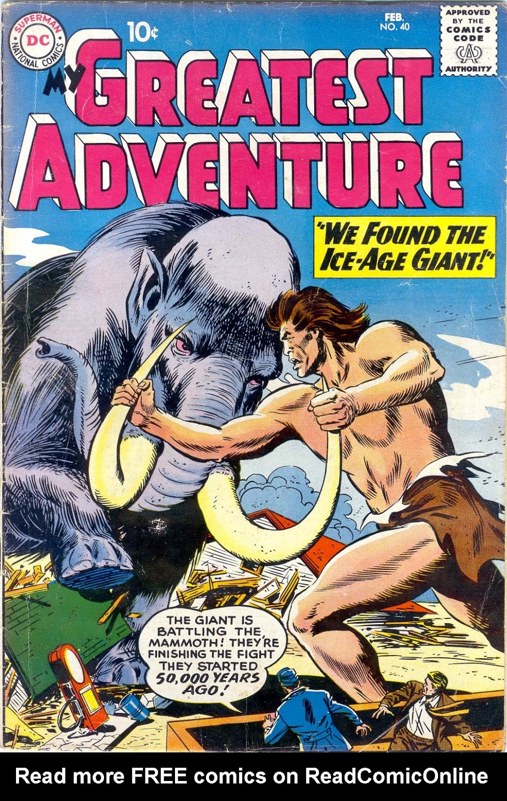 My Greatest Adventure (1955) 40 Page 1