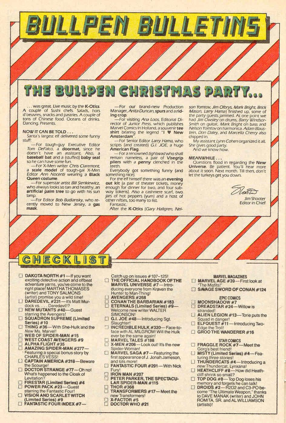 Read online Alpha Flight (1983) comic -  Issue #35 - 22