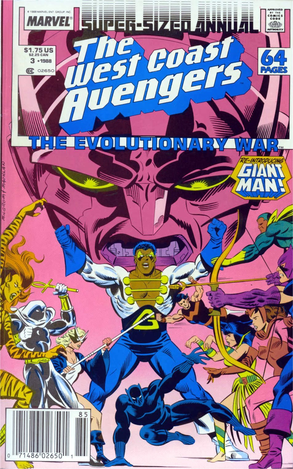 West Coast Avengers (1985) _Annual_3 Page 1