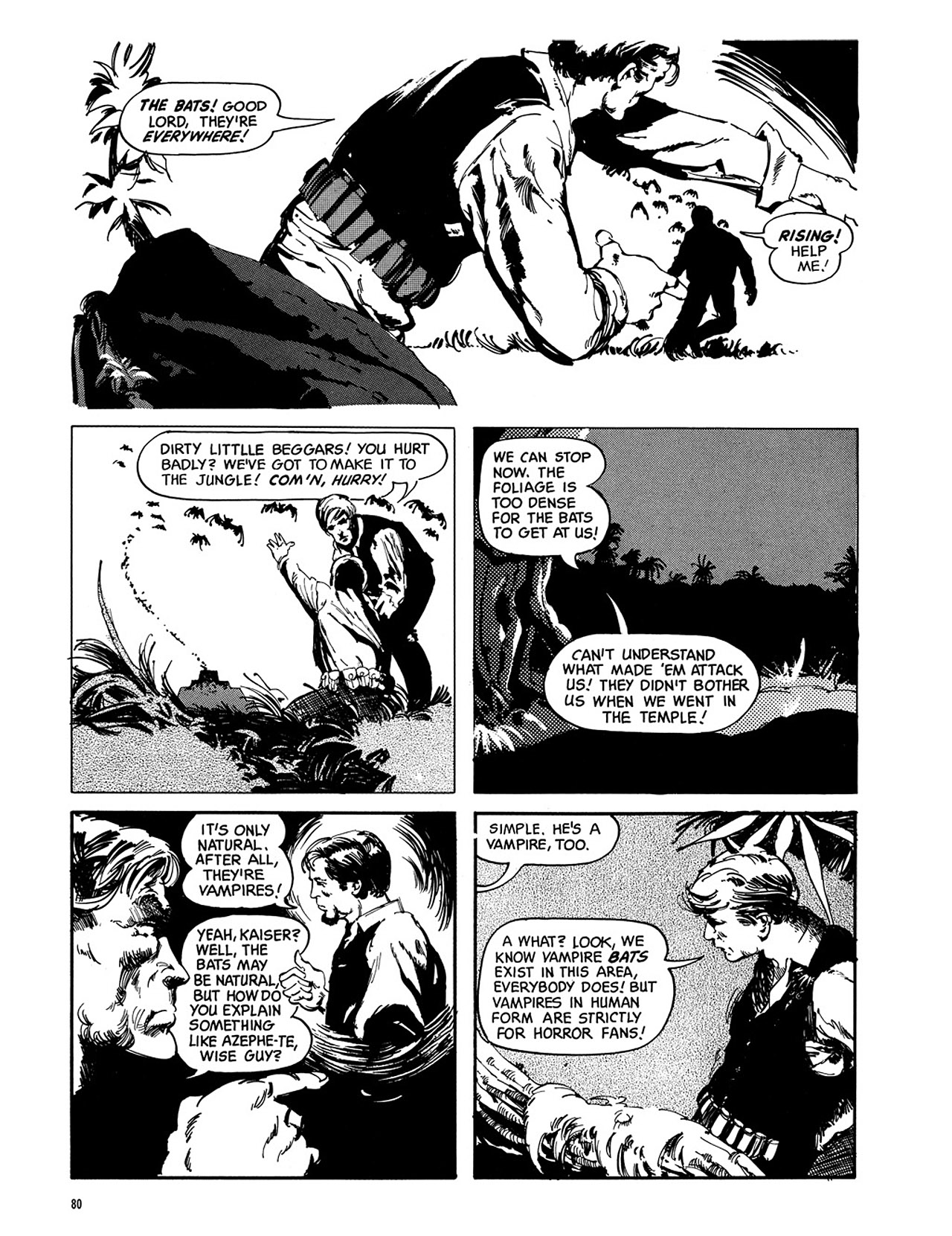 Read online Eerie Archives comic -  Issue # TPB 3 - 81