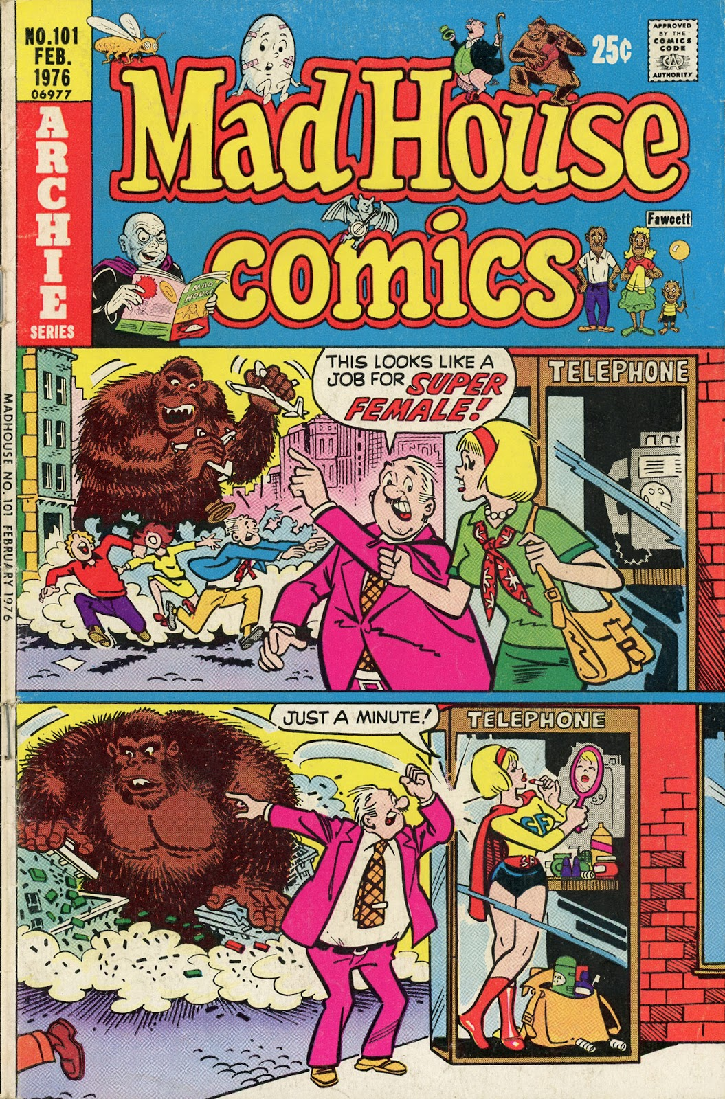 Read online Madhouse Comics comic -  Issue #101 - 1