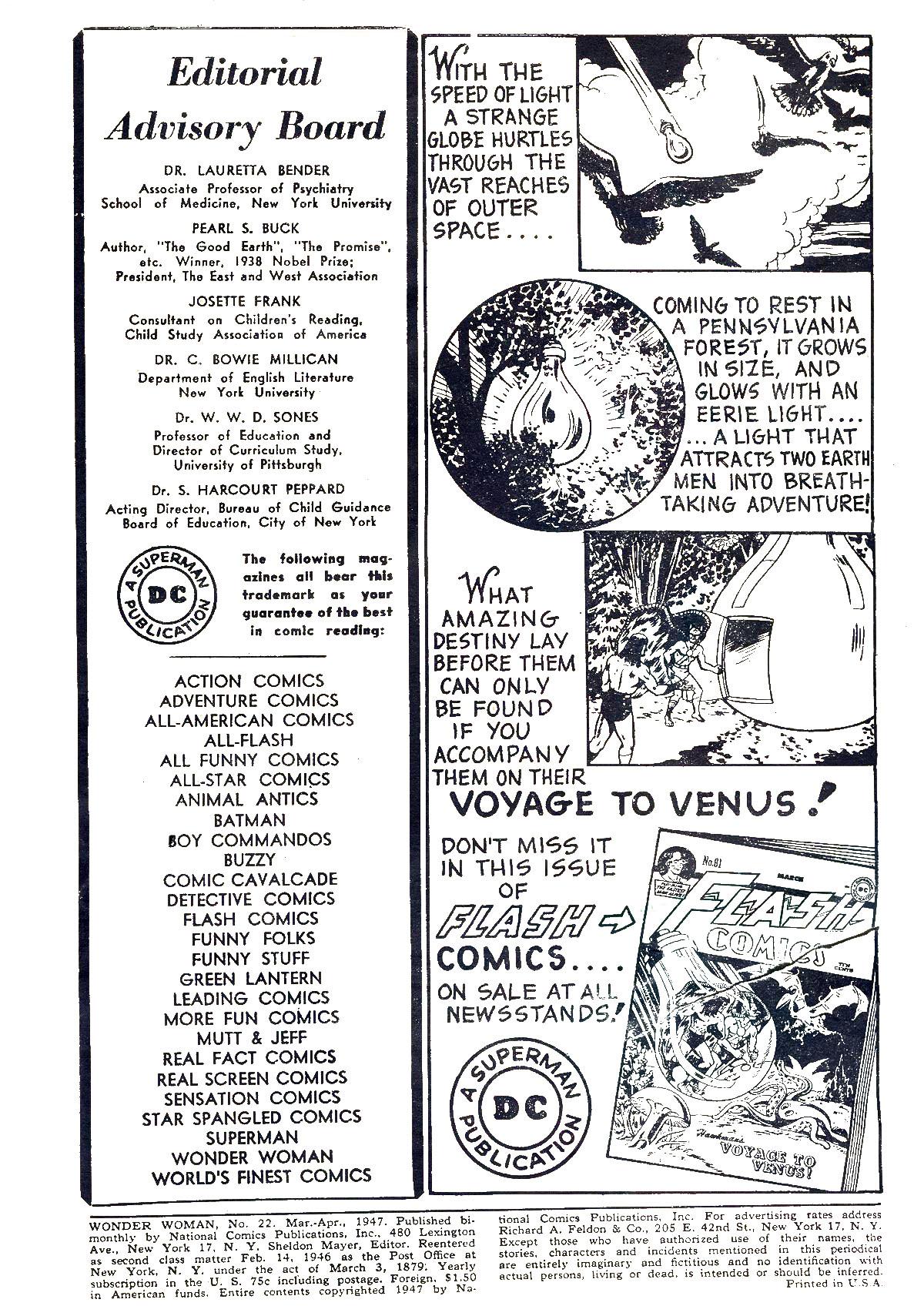 Read online Wonder Woman (1942) comic -  Issue #22 - 2