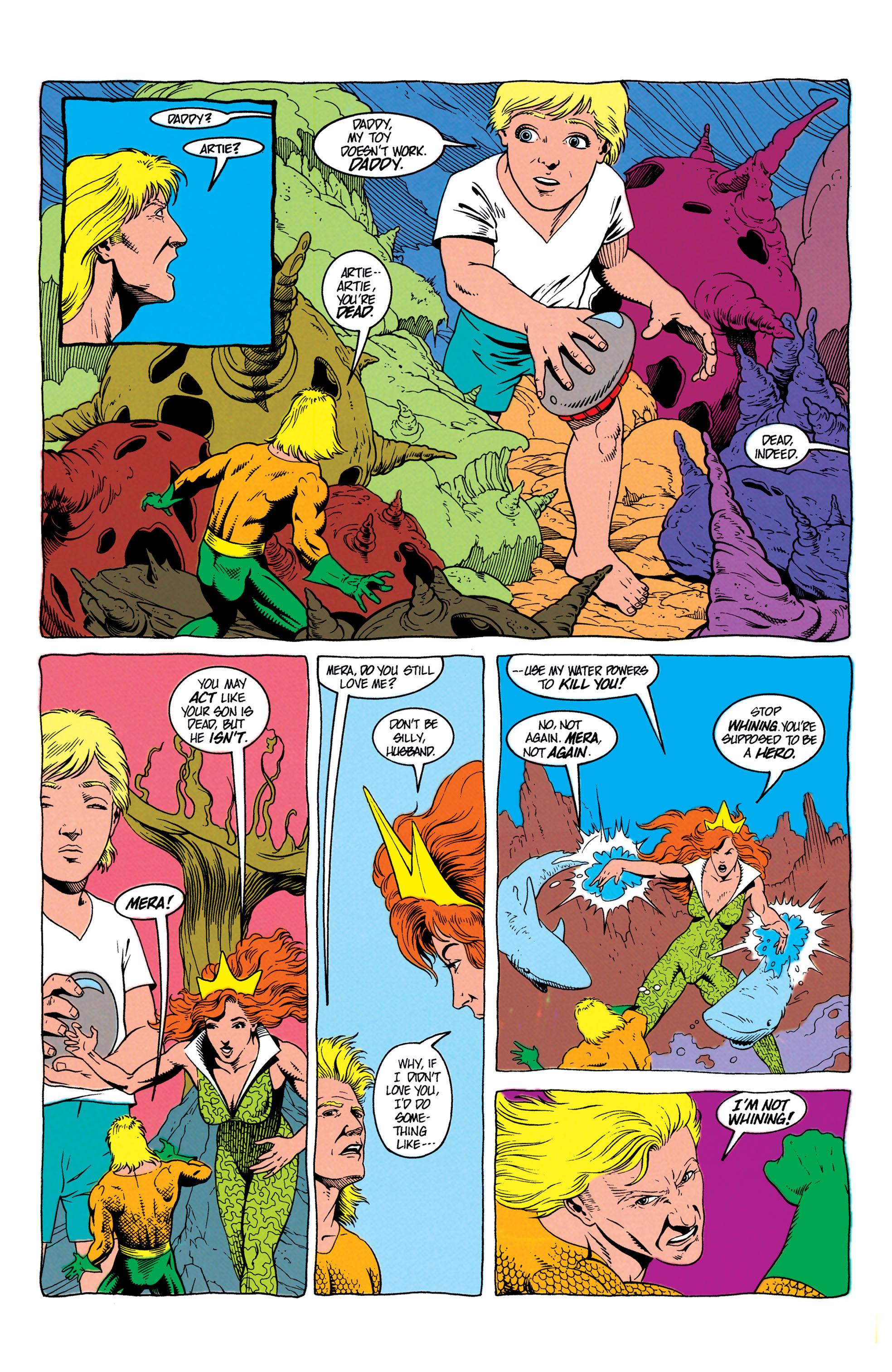 Read online Aquaman (1991) comic -  Issue #7 - 8