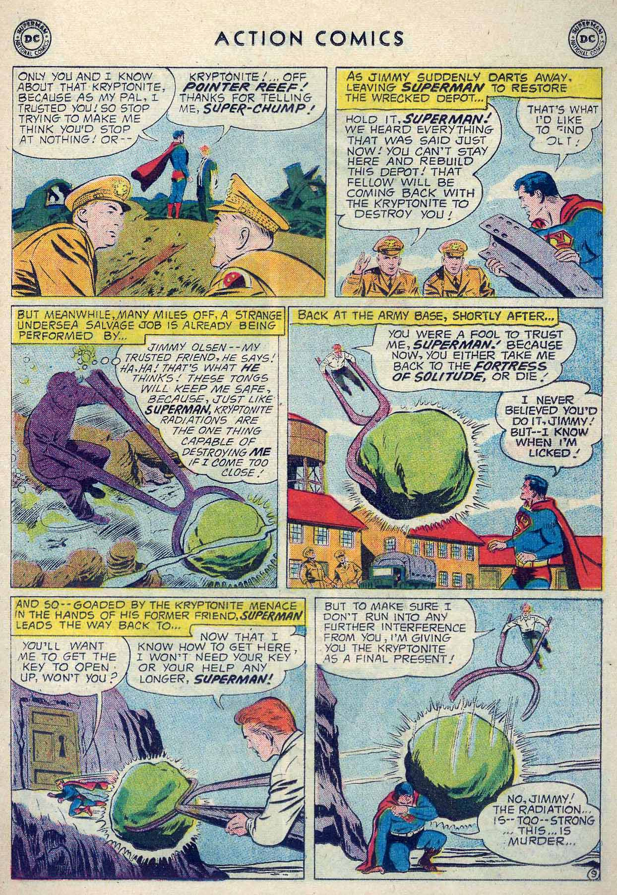 Read online Action Comics (1938) comic -  Issue #253 - 11