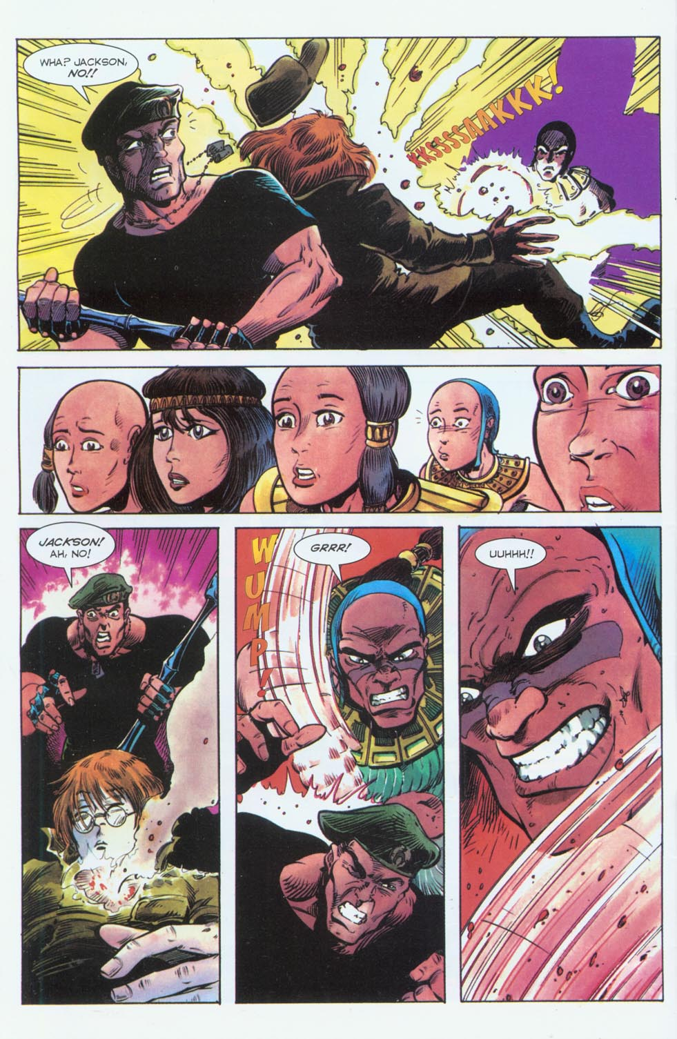 Read online Stargate comic -  Issue #3 - 6