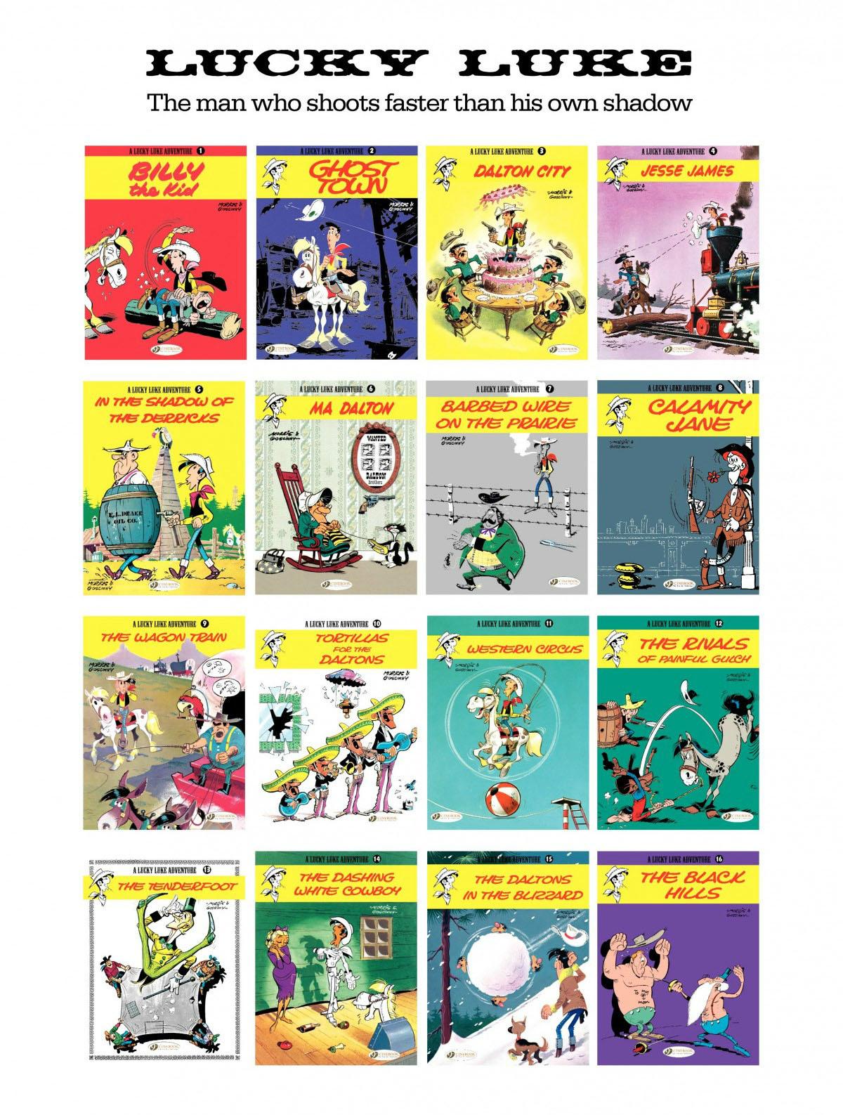 Read online A Lucky Luke Adventure comic -  Issue #28 - 48