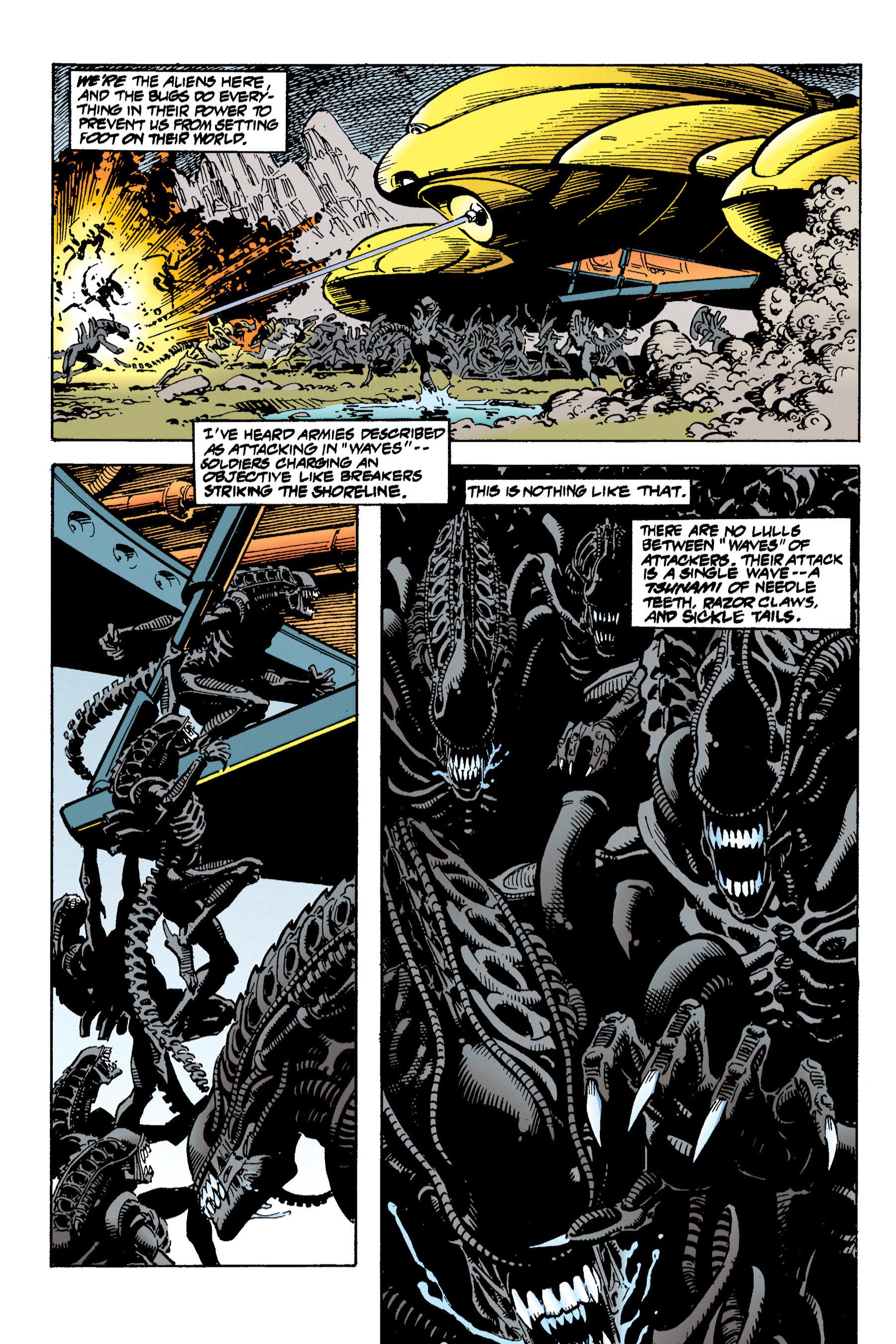 Read online Aliens vs. Predator Omnibus comic -  Issue # _TPB 1 Part 3 - 17