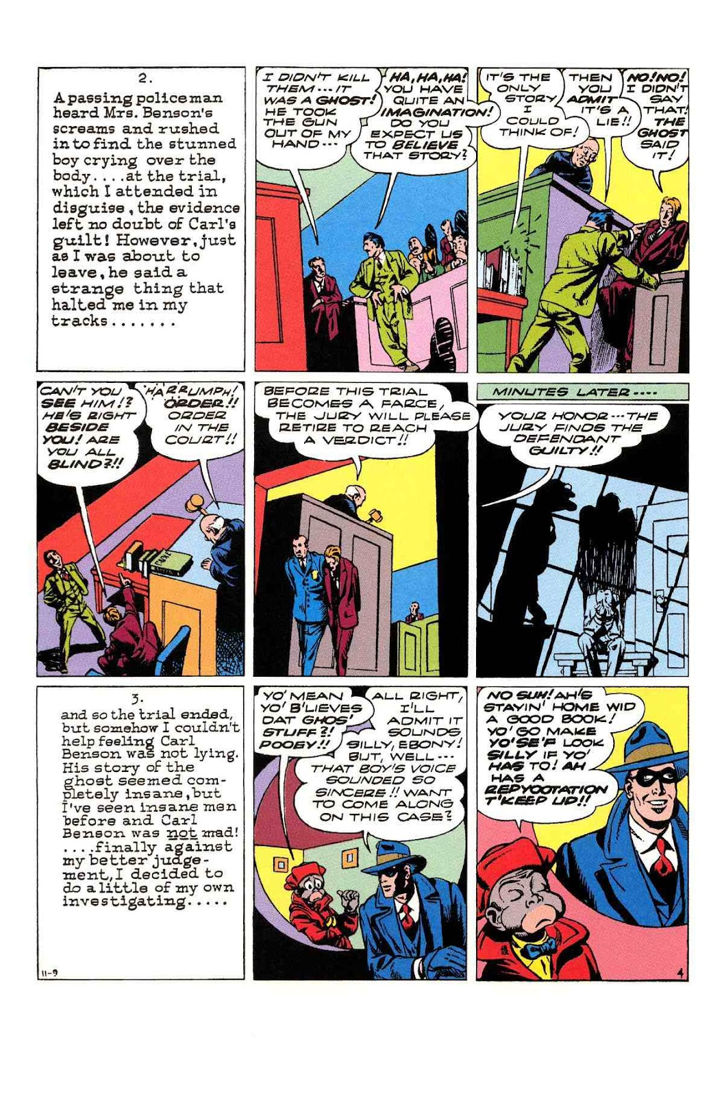 Read online Will Eisner's The Spirit Archives comic -  Issue # TPB 3 (Part 2) - 49