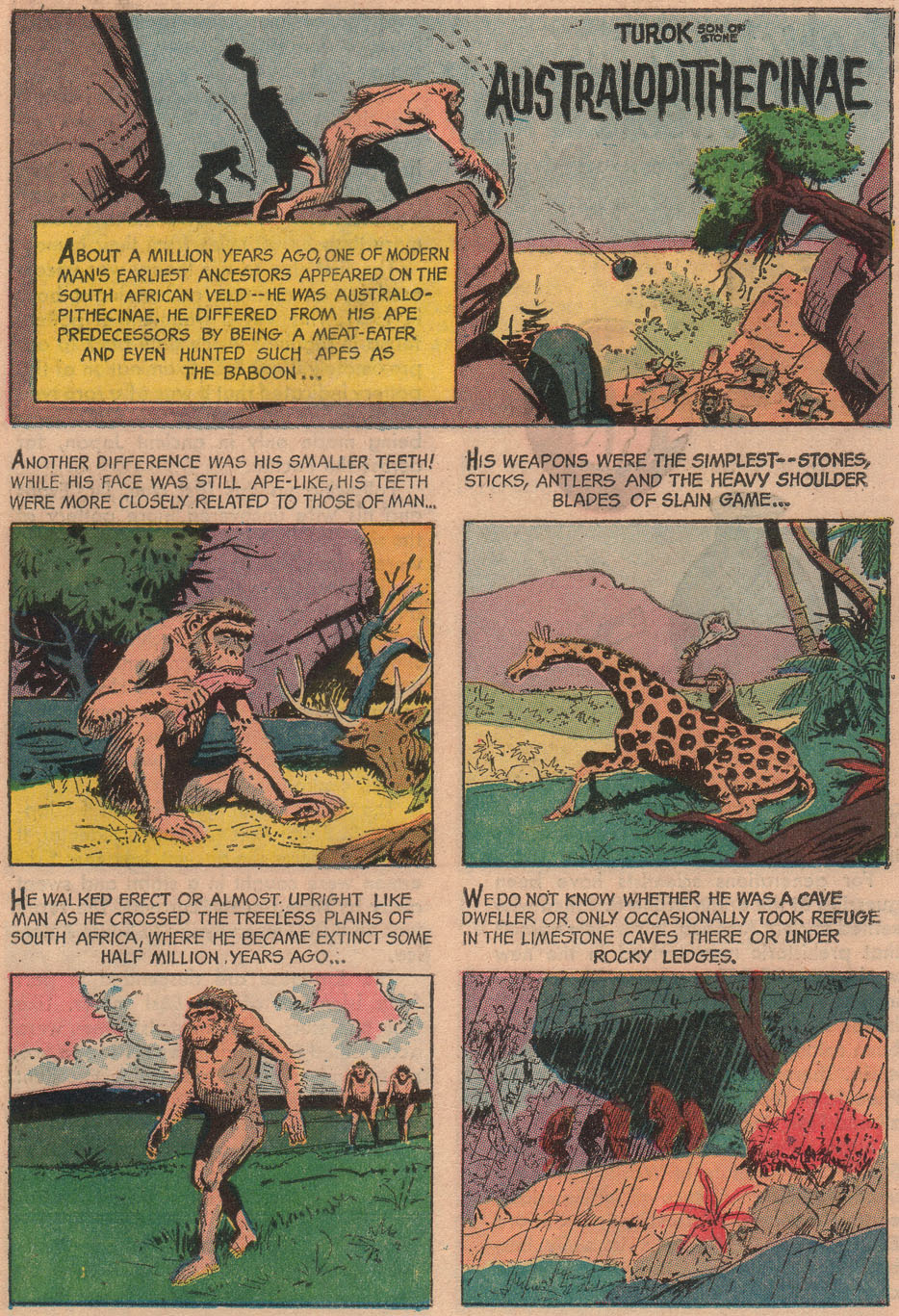 Read online Turok, Son of Stone comic -  Issue #53 - 19