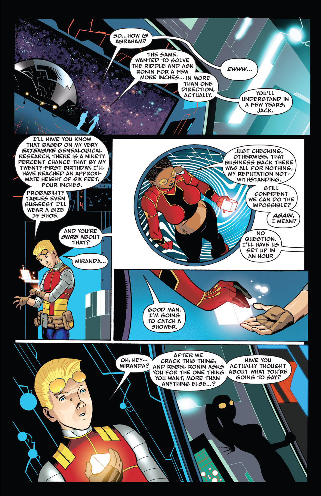 Read online The Many Adventures of Miranda Mercury: Time Runs Out comic -  Issue # TPB - 24