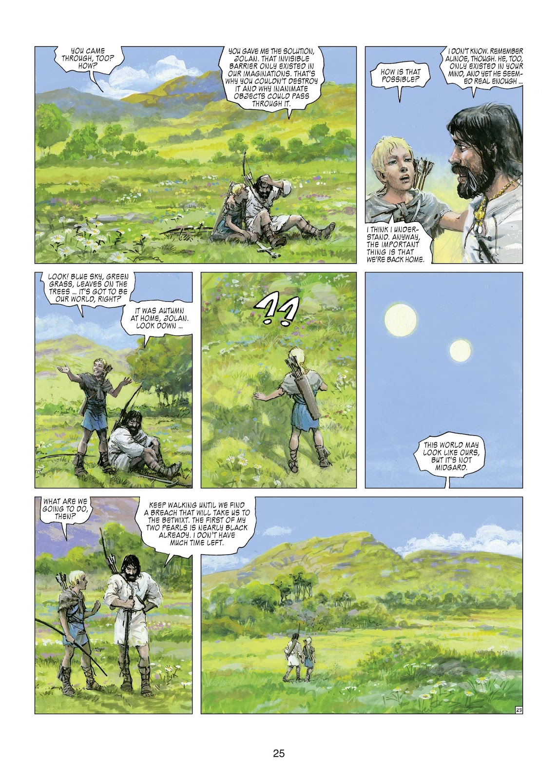 Read online Thorgal comic -  Issue #21 - 27