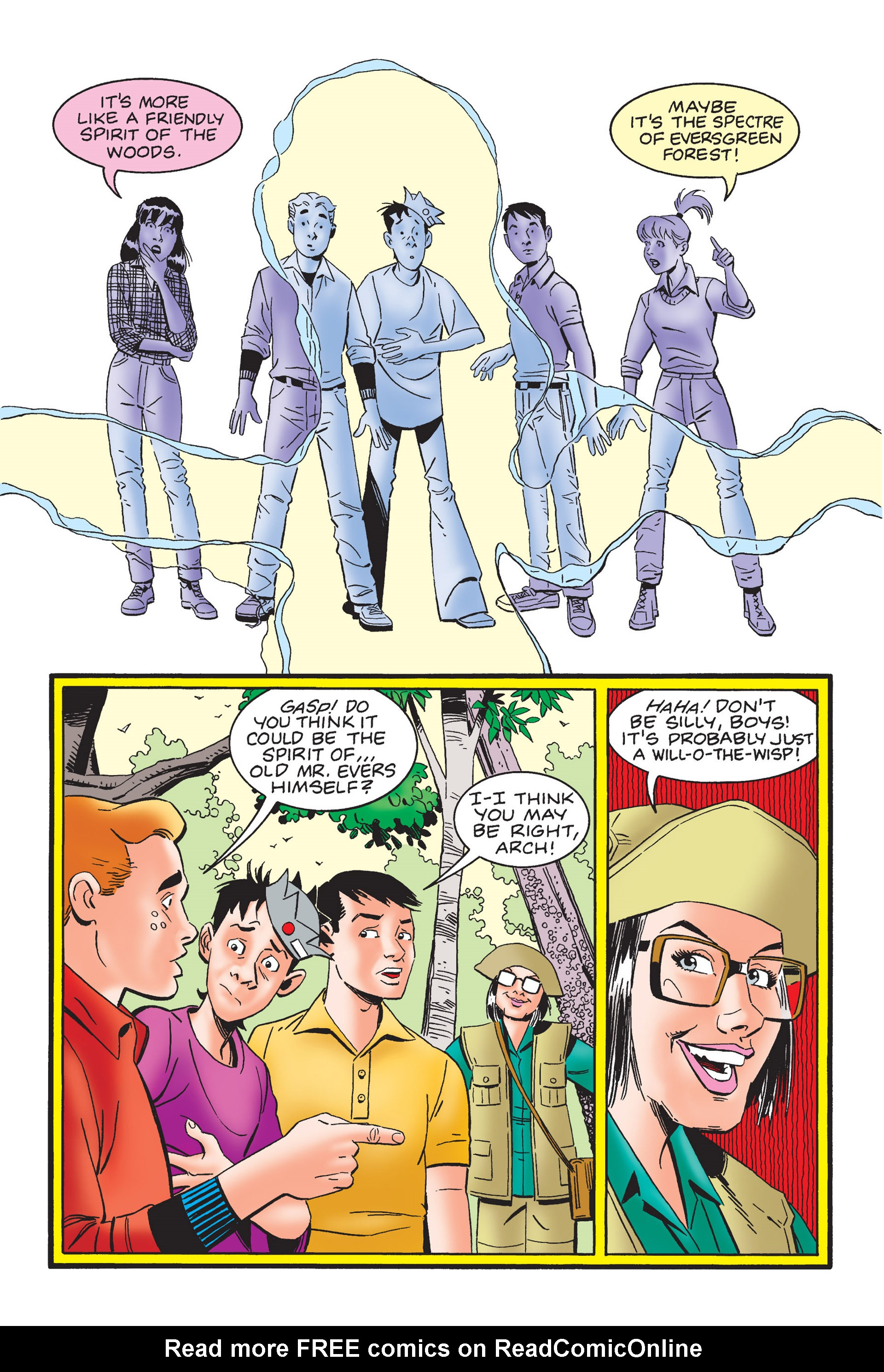 Read online Archie's New Look Series comic -  Issue #4 - 112