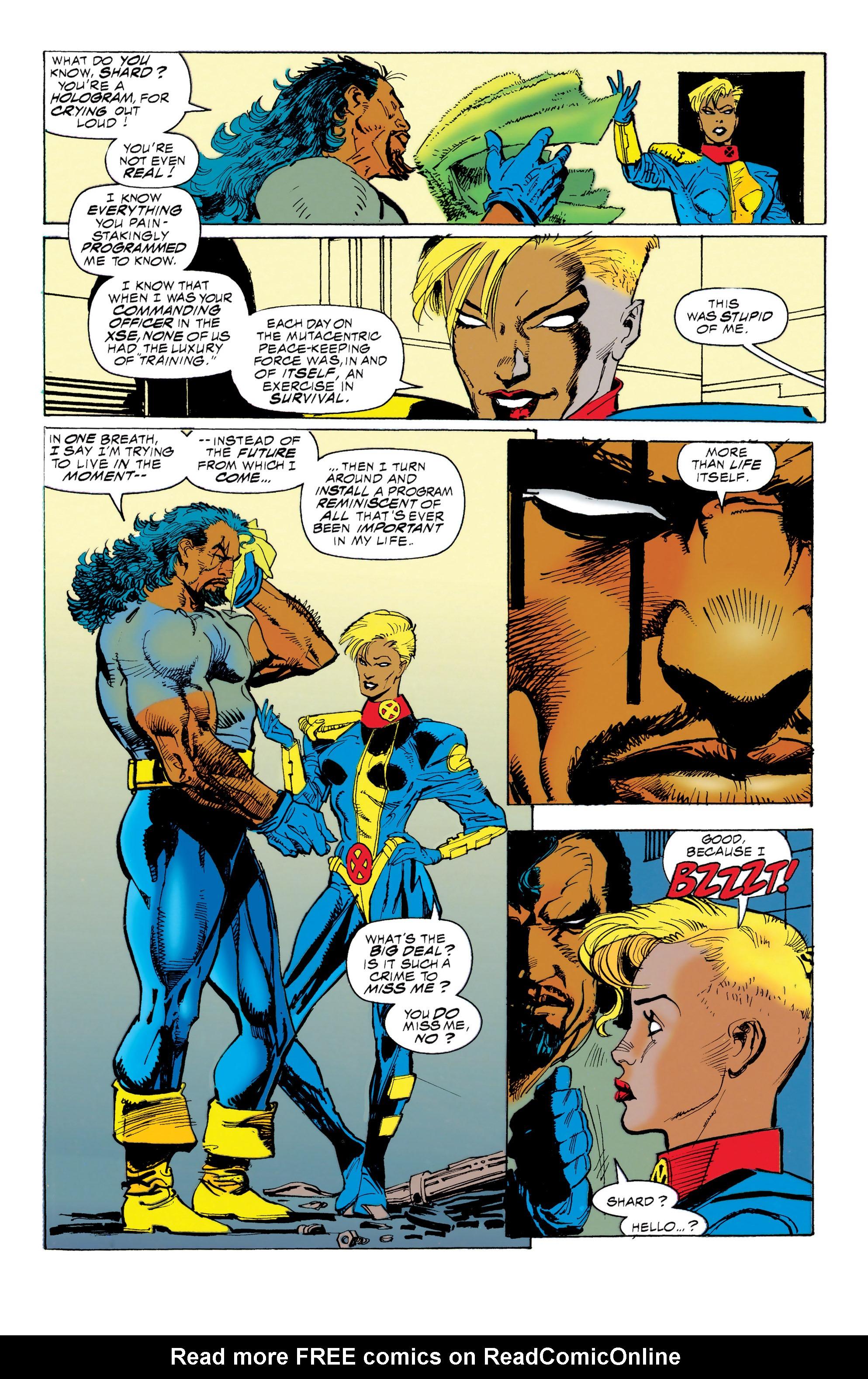 Read online Uncanny X-Men (1963) comic -  Issue #314 - 9