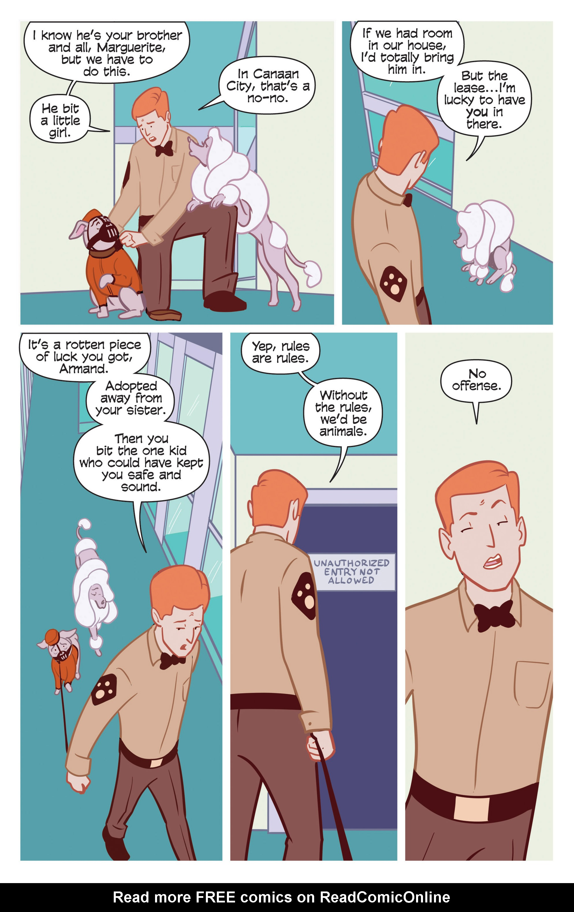 Read online Action Lab, Dog of Wonder comic -  Issue #3 - 11