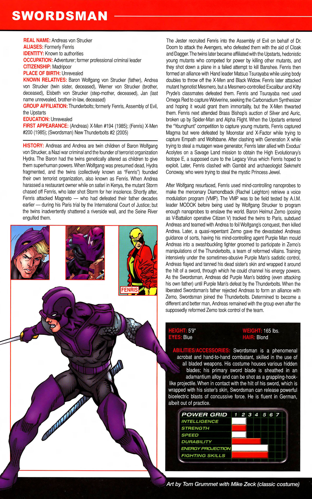 Read online All-New Official Handbook of the Marvel Universe A to Z comic -  Issue #11 - 22