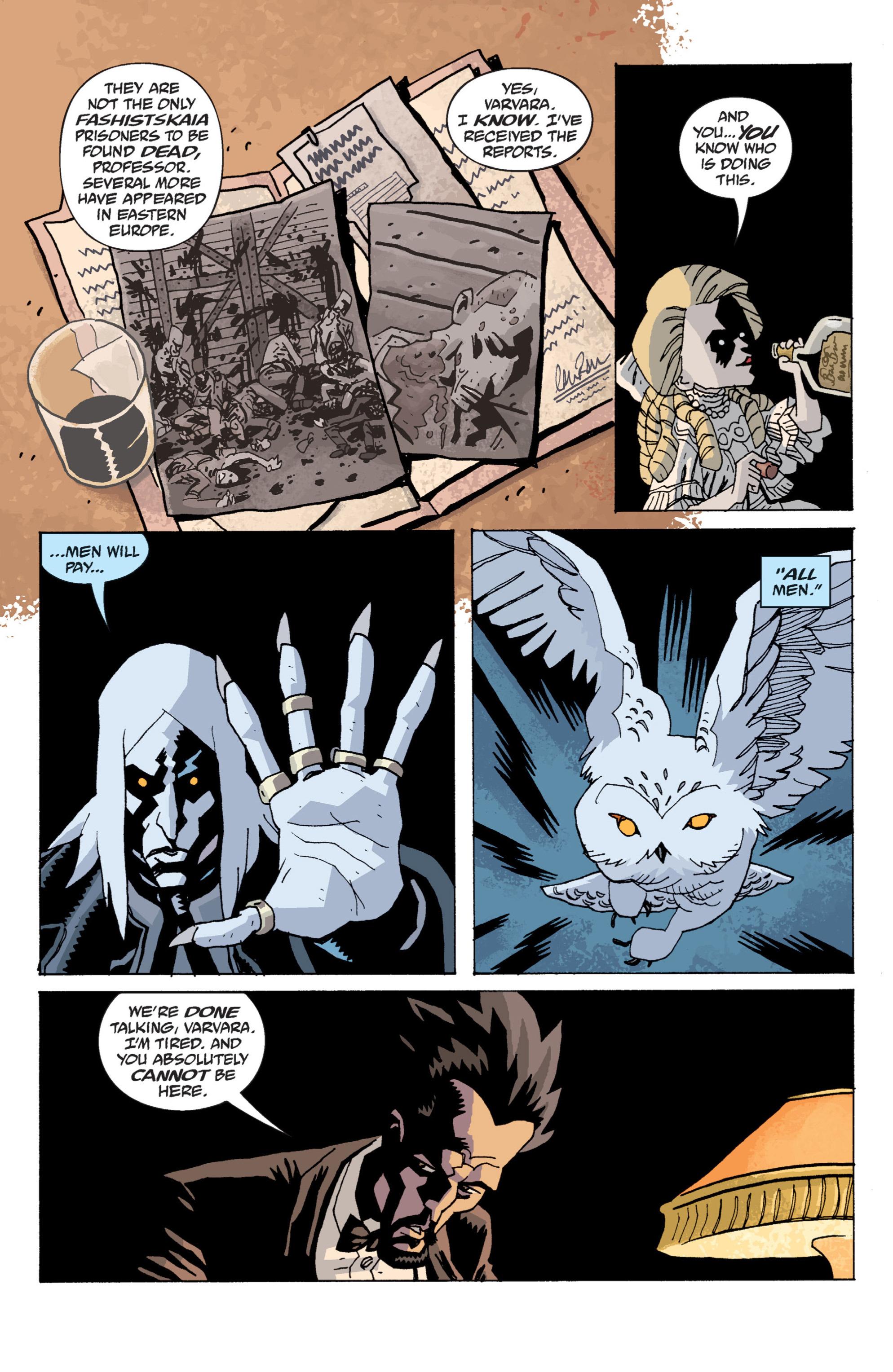 Read online B.P.R.D. (2003) comic -  Issue # TPB 13 - 13