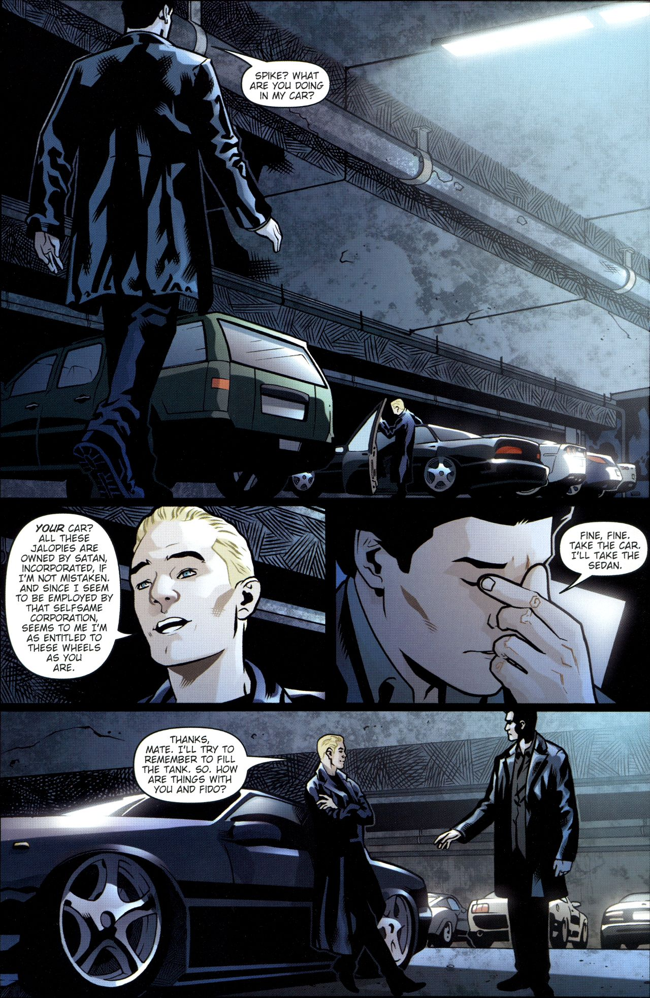 Read online Angel: Smile Time comic -  Issue #1 - 16