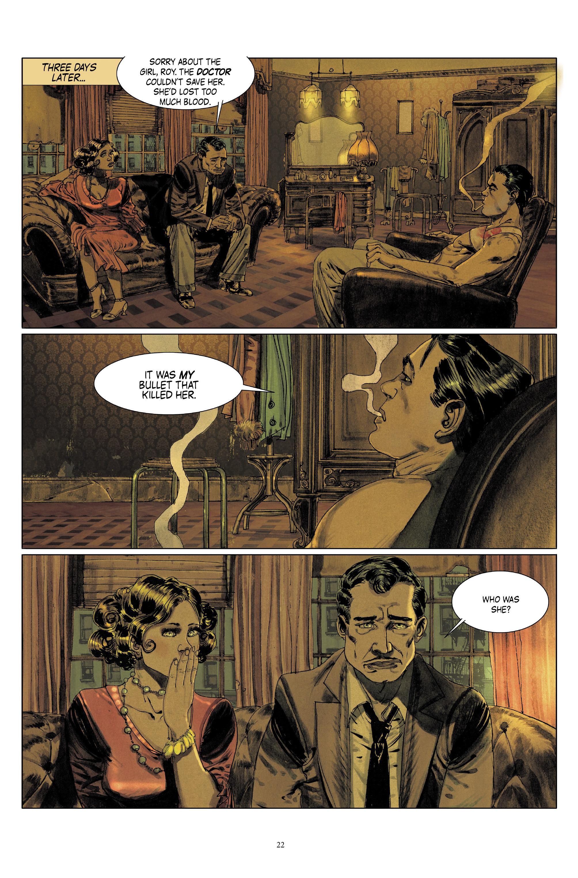 Read online Triggerman comic -  Issue #5 - 22