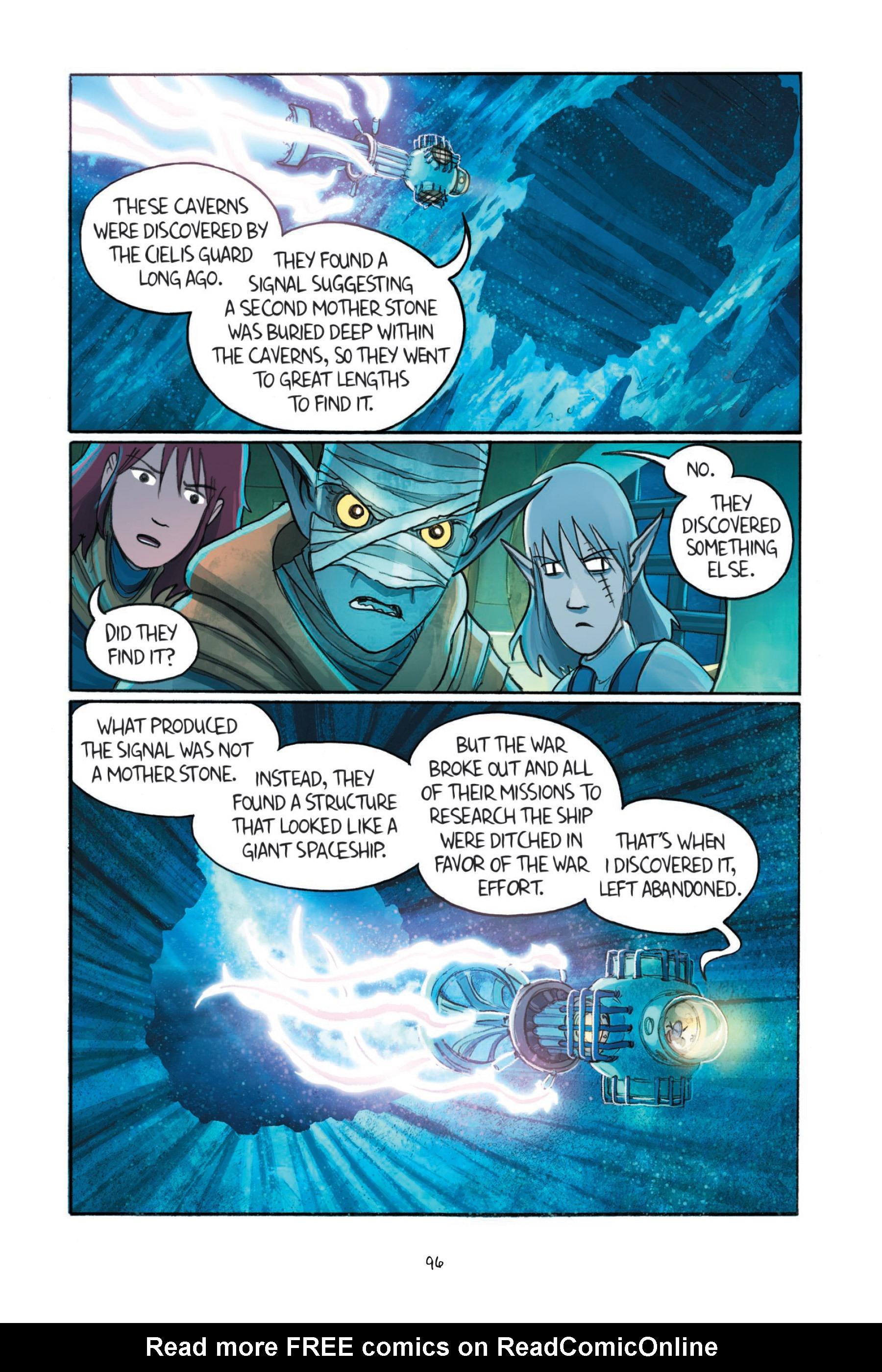 Read online Amulet comic -  Issue #7 - 97