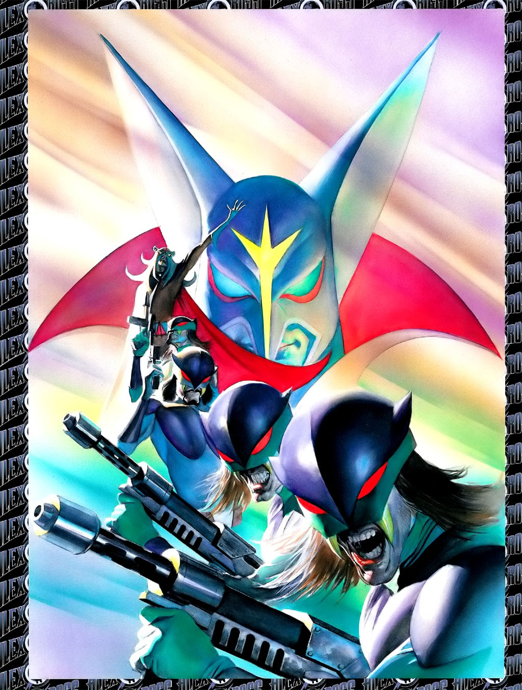 Read online Alex Ross: Battle of the Planets Artbook comic -  Issue # Full - 8