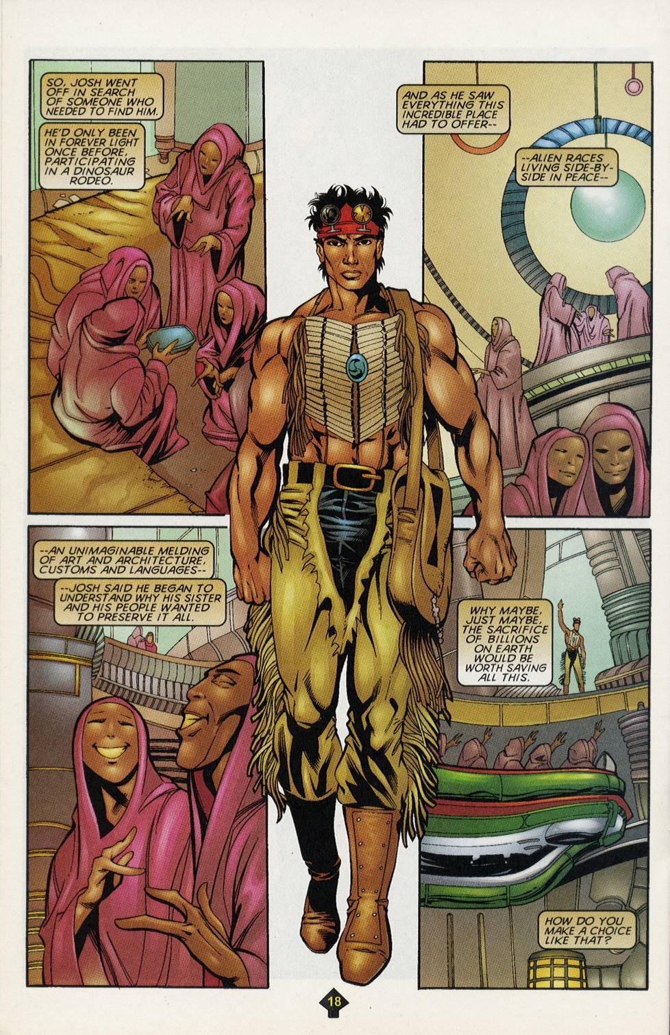 Read online Turok comic -  Issue #4 - 14