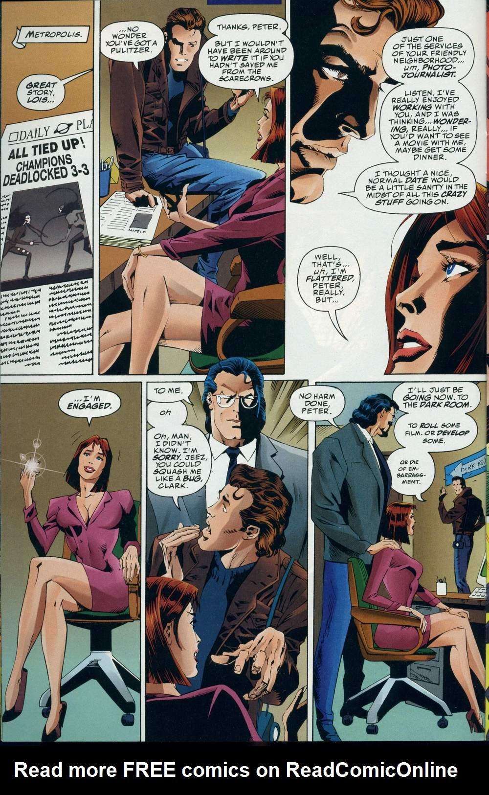 Read online DC Versus Marvel Comics comic -  Issue #3 - 15