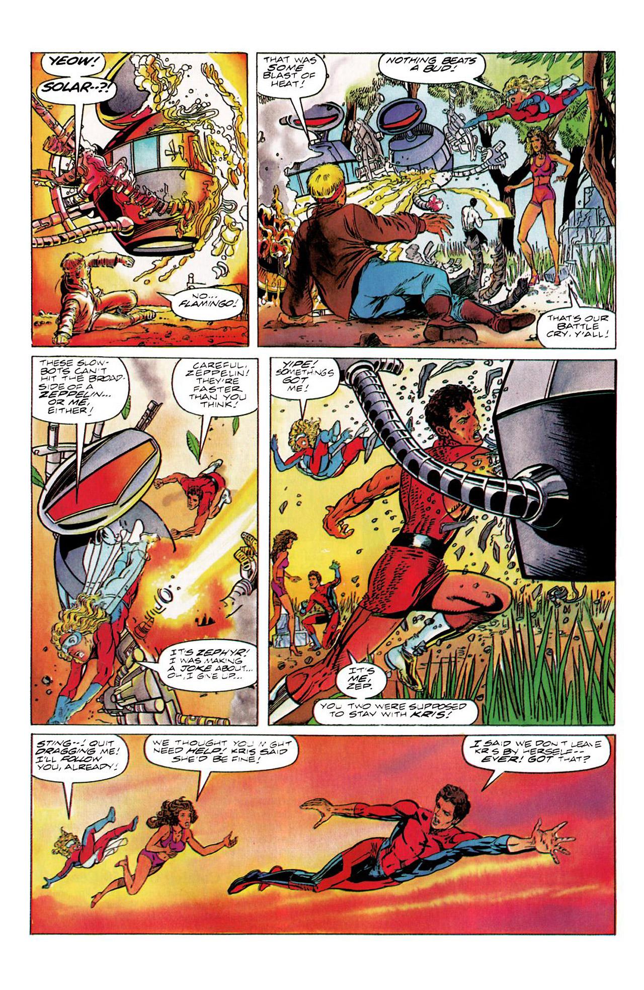 Read online Harbinger (1992) comic -  Issue #8 - 13