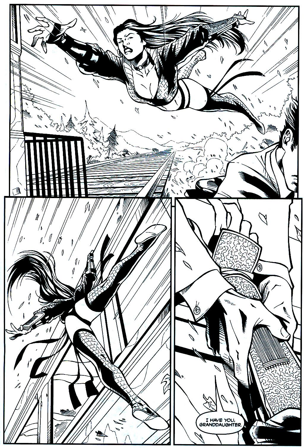 Read online Shi: Sempo comic -  Issue #1 - 16