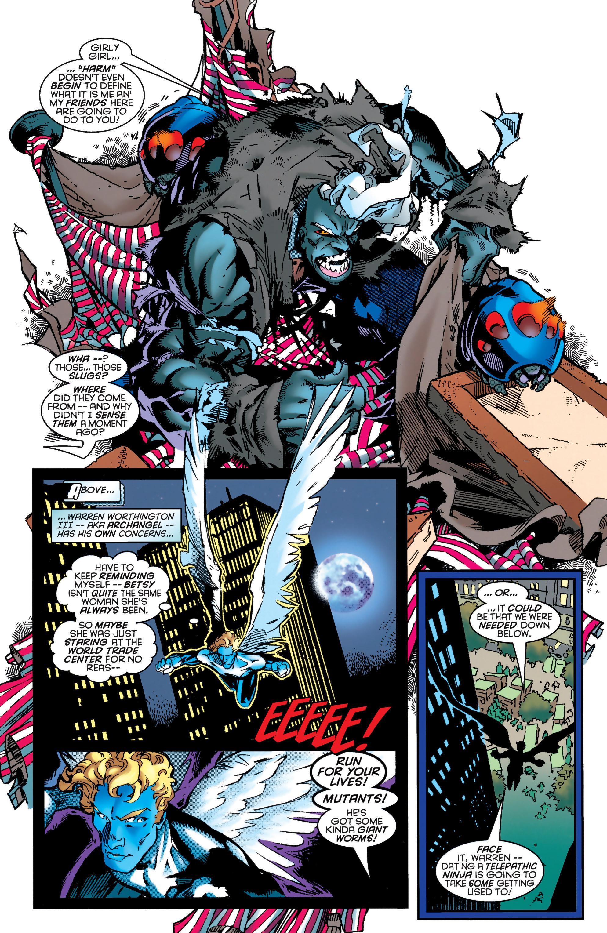 Read online Uncanny X-Men (1963) comic -  Issue #349 - 11