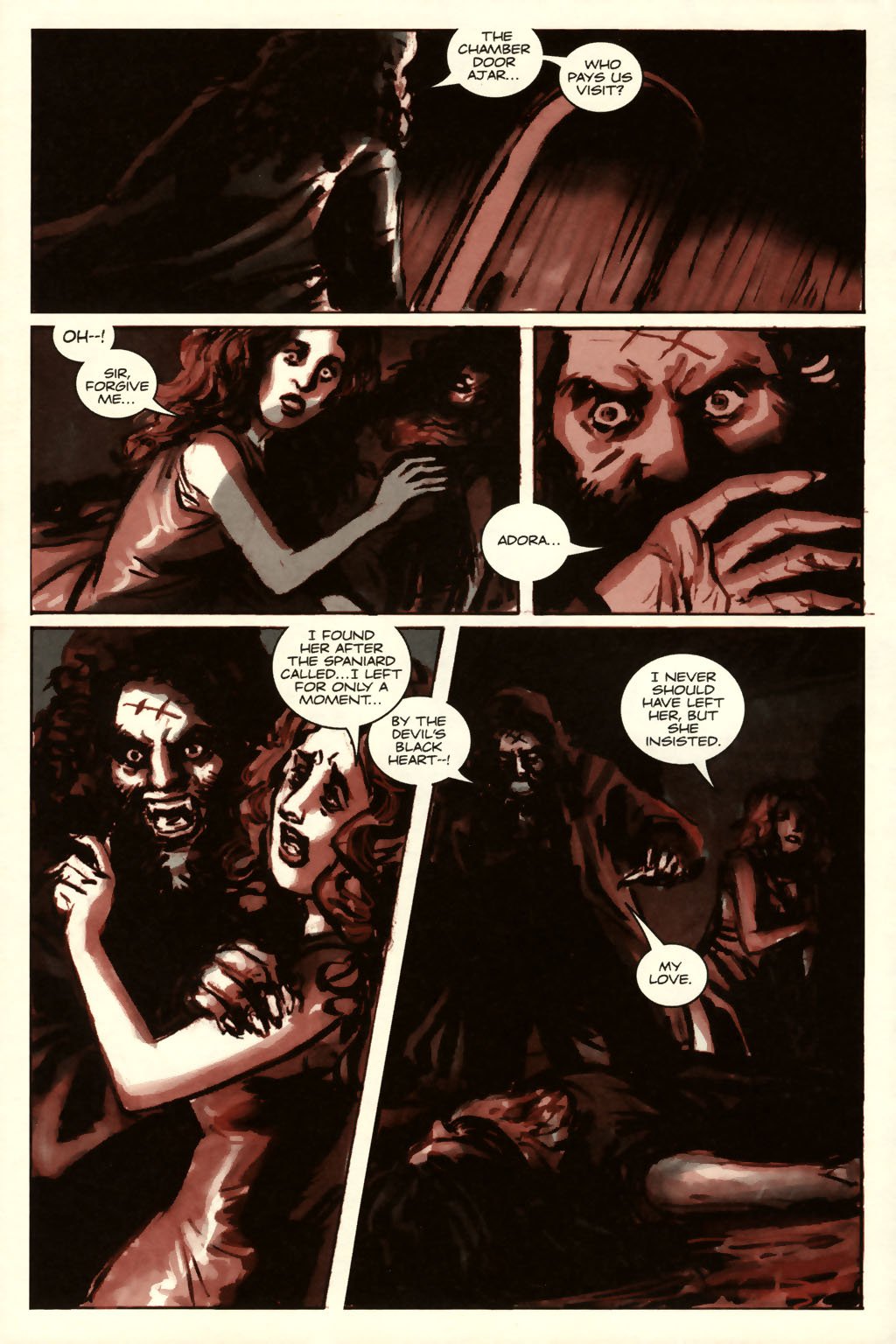 Read online Sea of Red comic -  Issue #8 - 4
